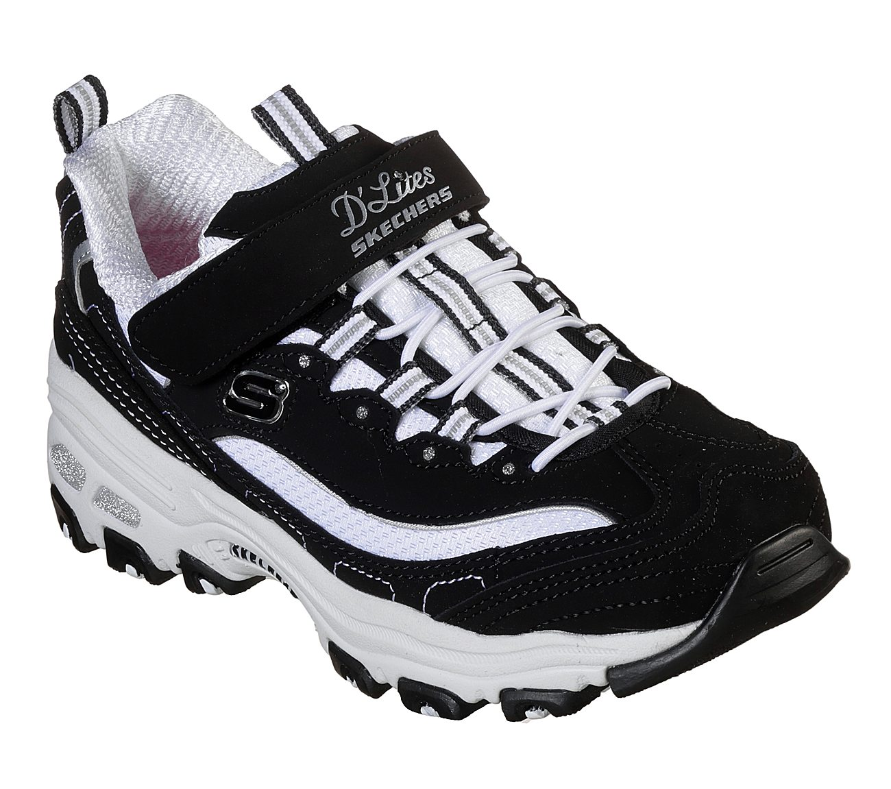 Skechers sneakers shoes with leather straps and Off White