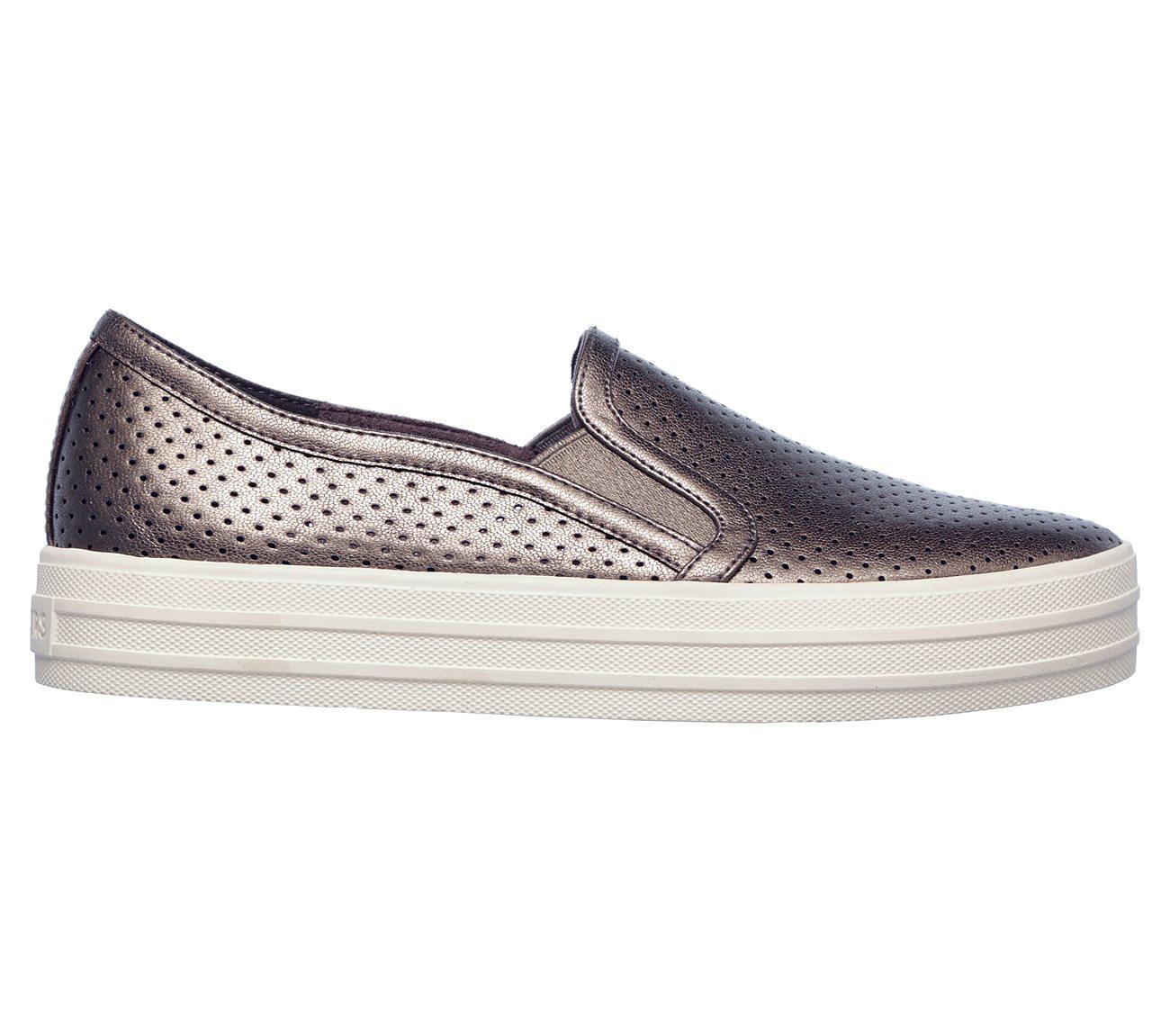 Skechers Double Up Metallic Breeze Slip-On Sneaker (Women's) ibMHijK4a