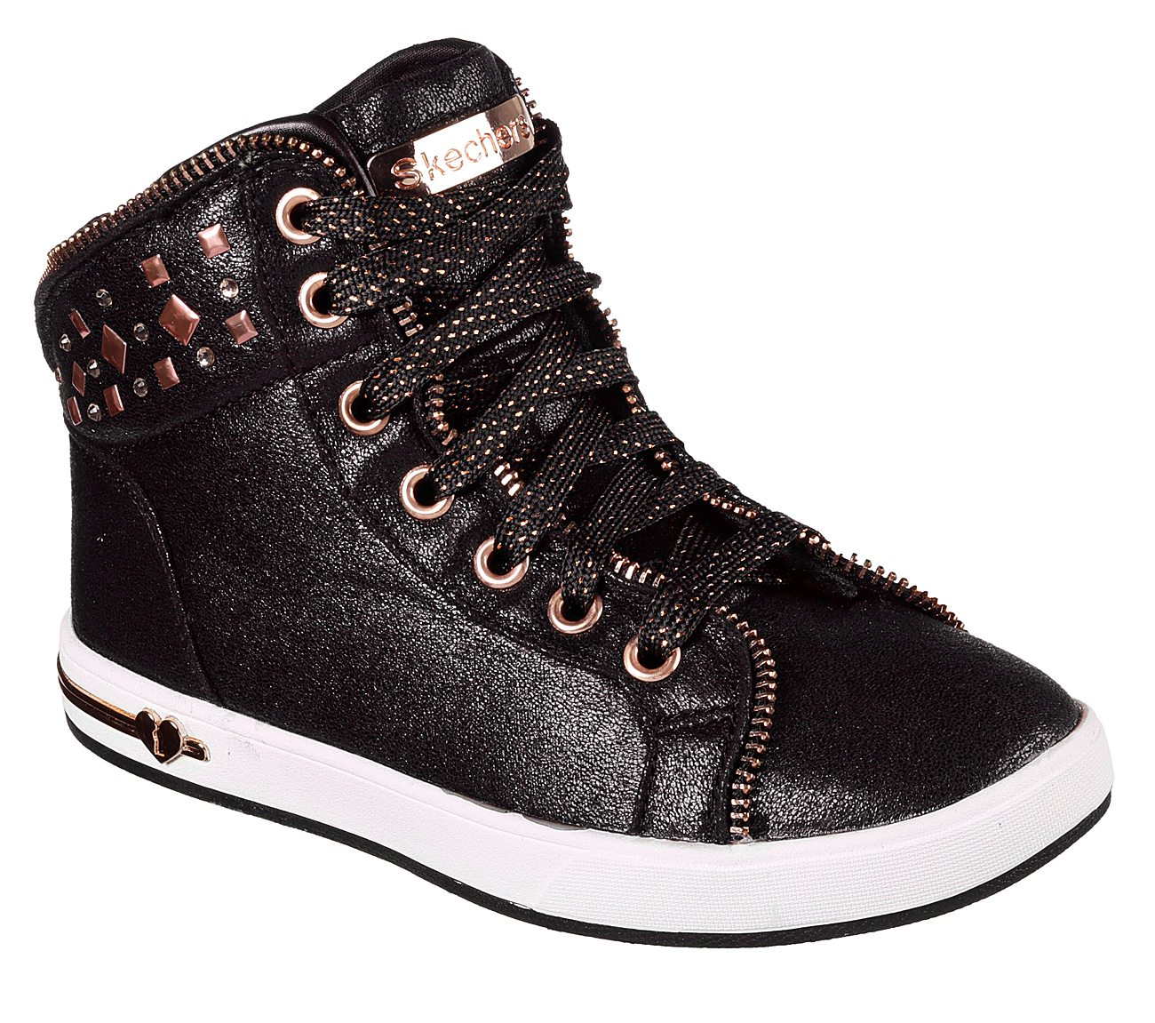 Select SZ//Color. Skechers Kids Girls Shoutouts-Zipsters Sneaker