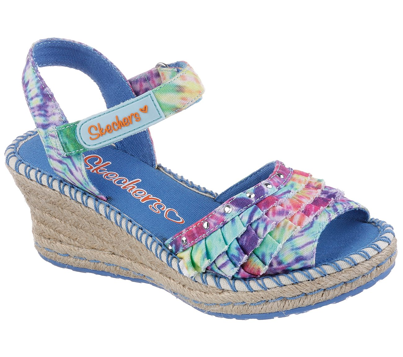 003a7af12687 Buy SKECHERS Tikis - Ruffle Ups Strappy Sandals Shoes only  36.00
