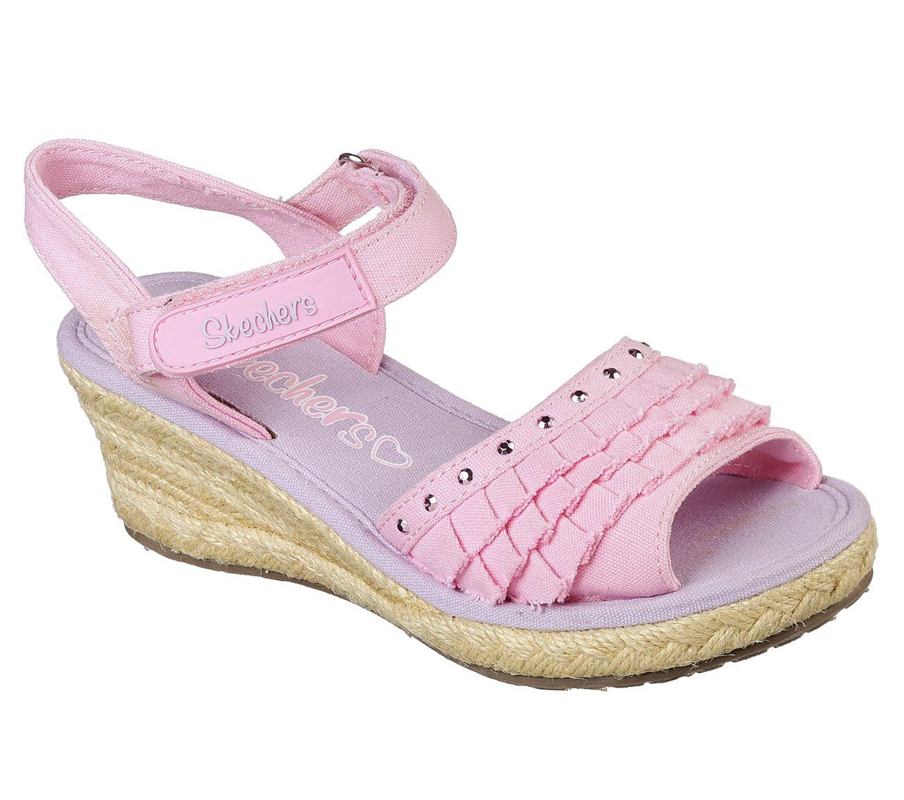 Buy Skechers Tikis Ruffle Ups Strappy Sandals Shoes Only
