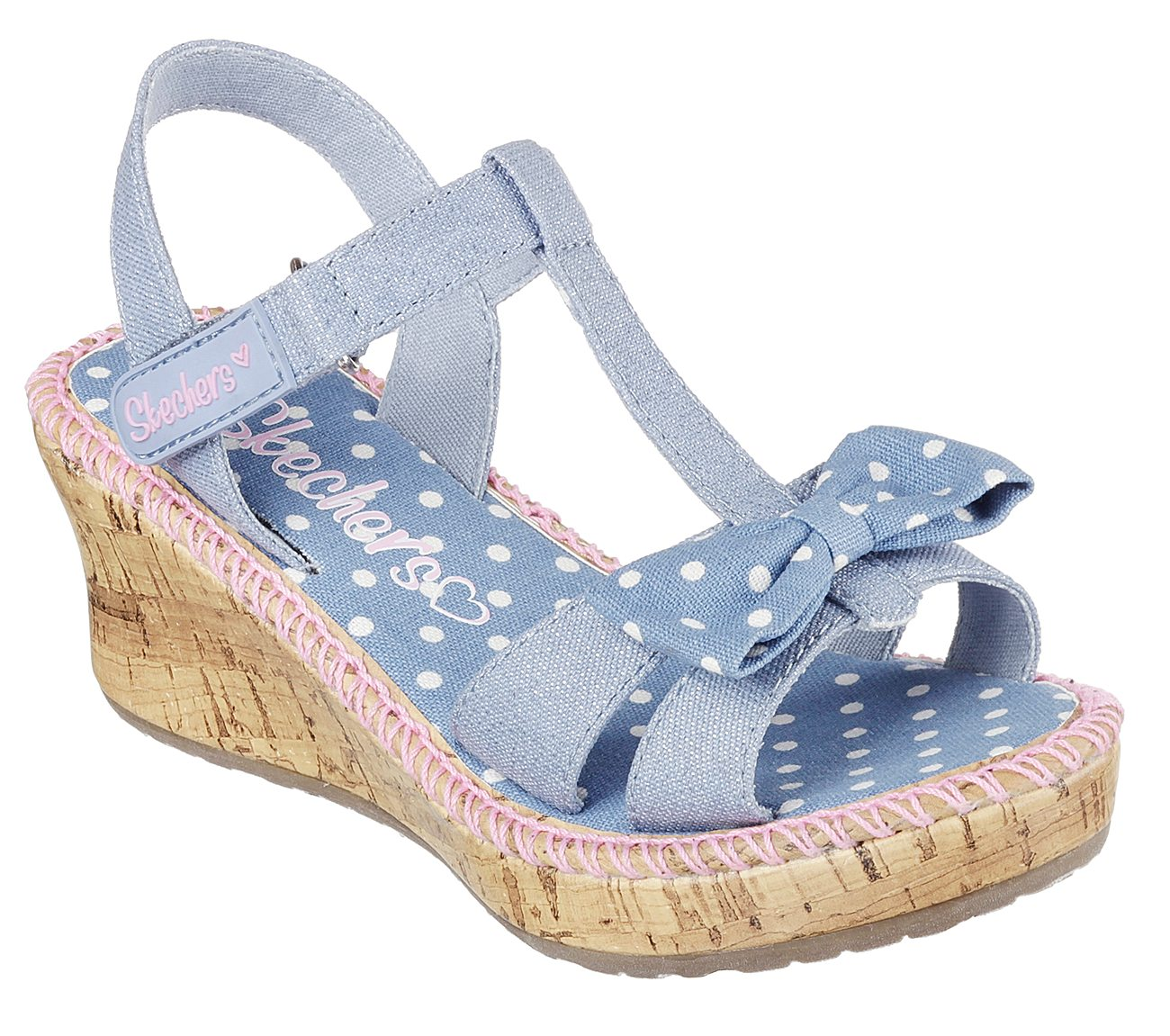 57d73bb7679a Buy SKECHERS Tikis - Dots N Dazzle Strappy Sandals Shoes only  38.00