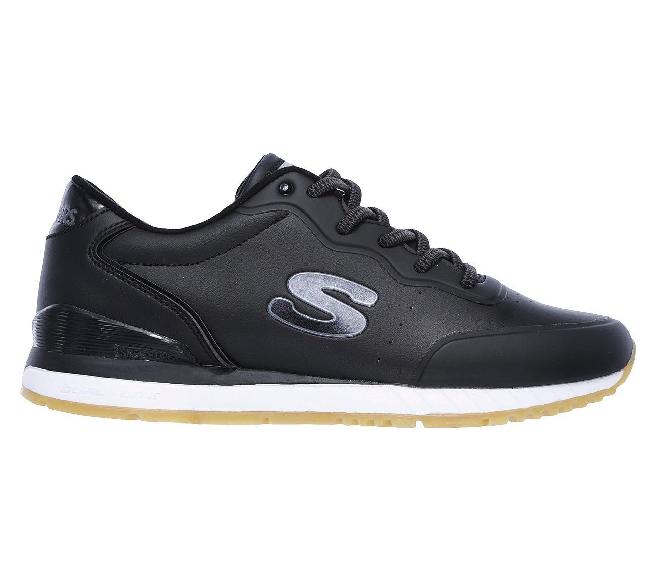Skechers Sunlite Shimmies Sport Shoes Womens In Black