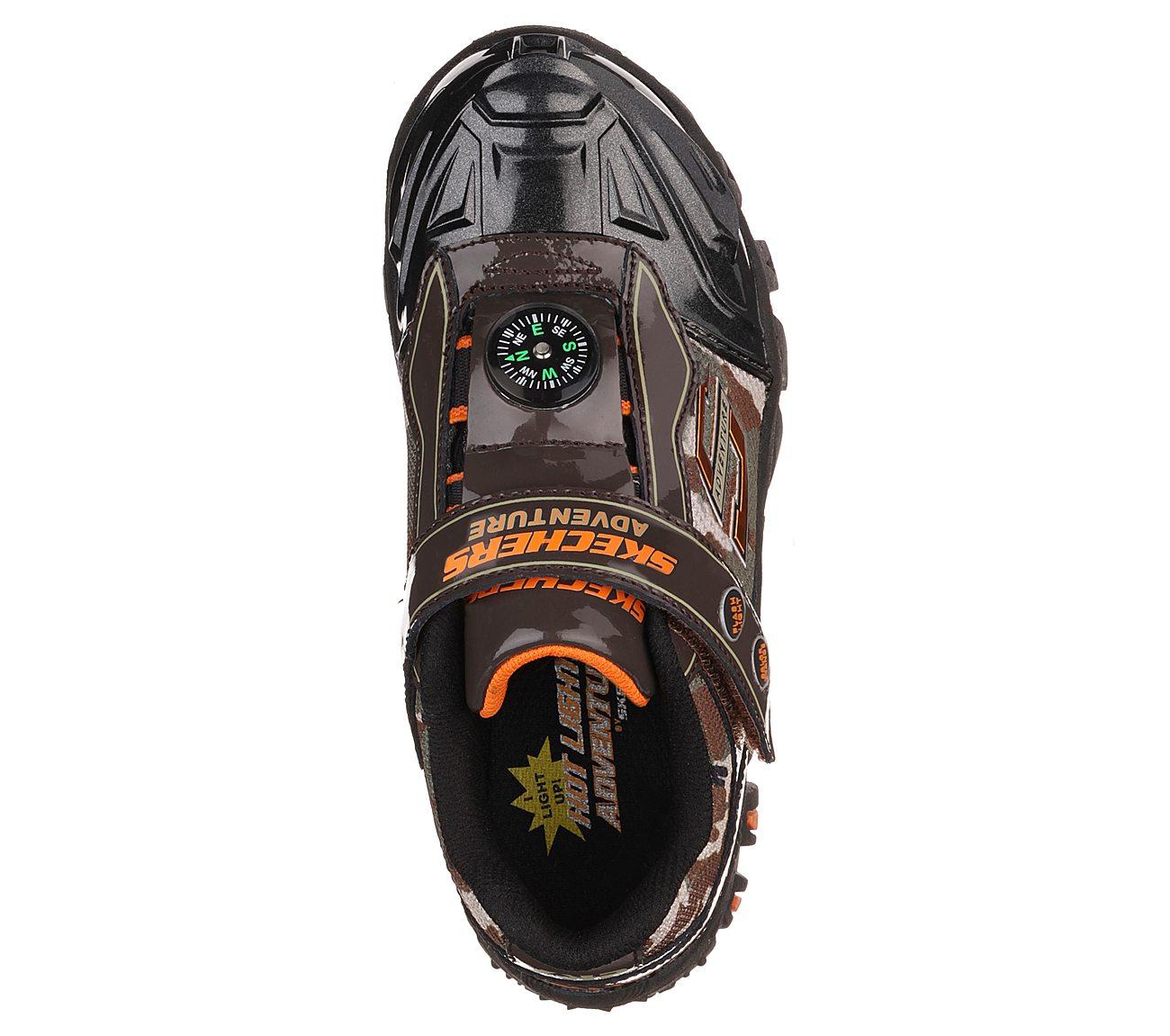 acda4b9fc180 Skechers Kids Damager II-Adventurer Light-Up Sneaker Skechers Kids Footwear  90490L Toddler Little Kid