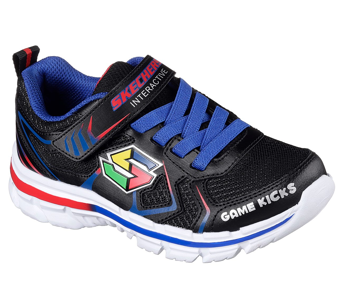 Skechers Nitrate Game Kicks Boys' Interactive Light Up Shoes