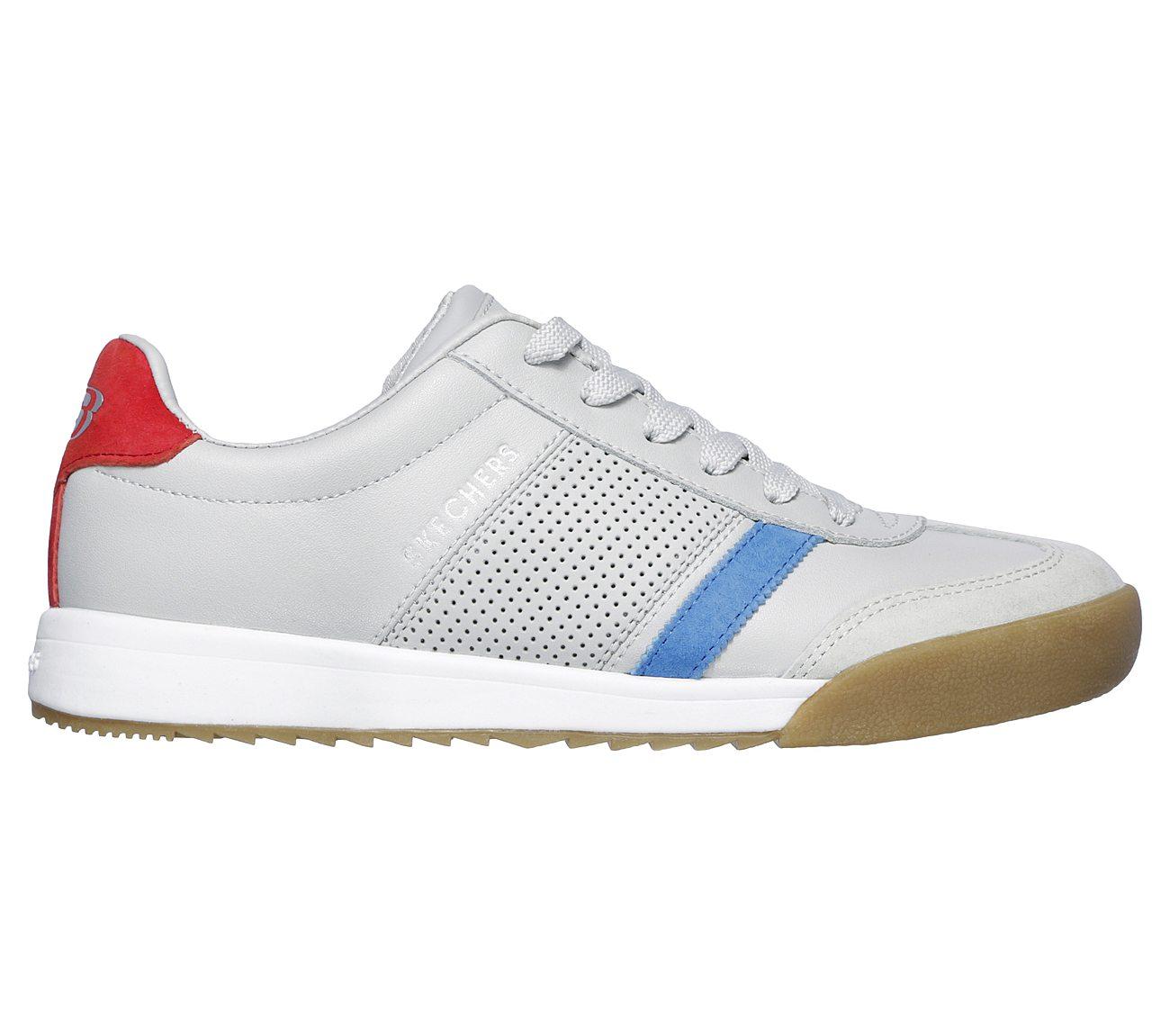 Women's Skechers Zinger Retro Rockers Sneaker White/Black   Style?961-WBK   6.5