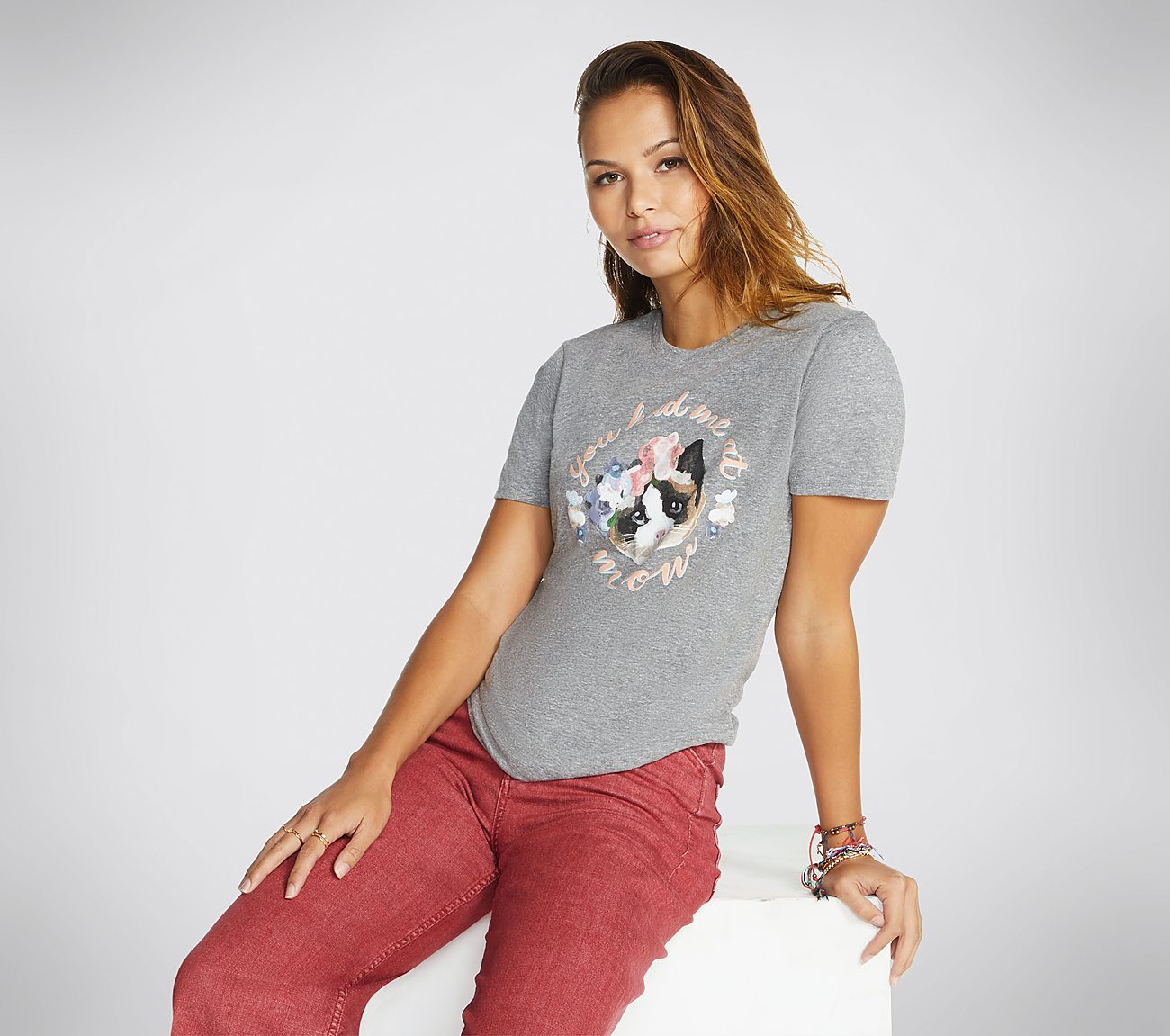 BOBS Had Me At Meow Tee Shirt