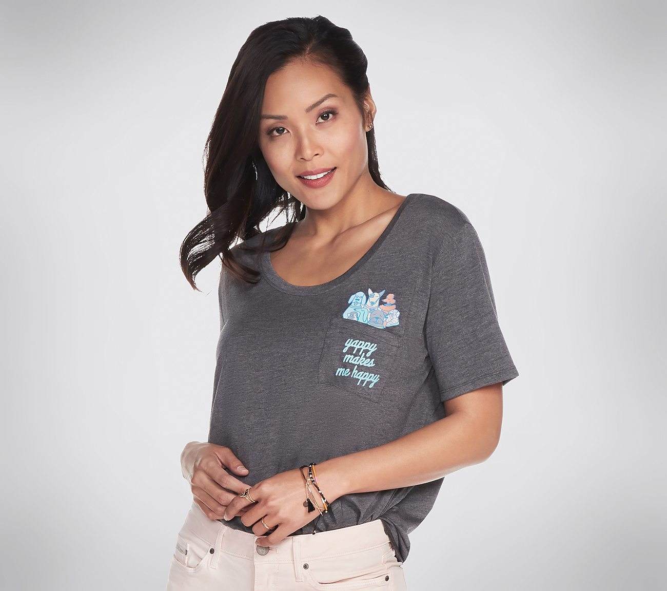 BOBS for Dogs Pastel Pocket Tee Shirt
