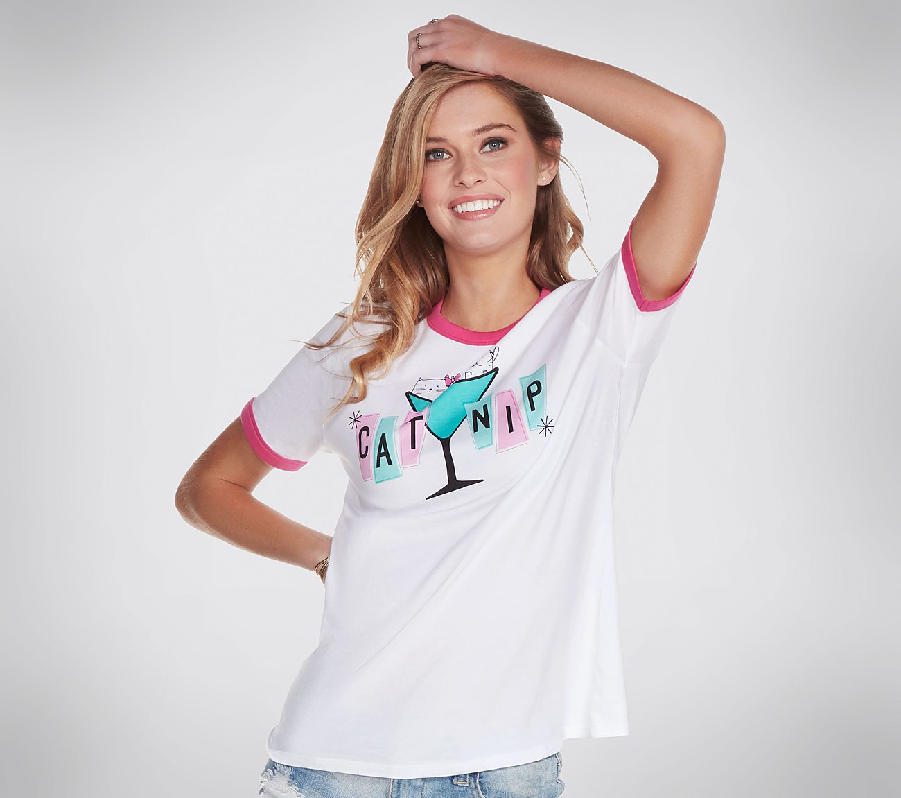 BOBS for Cats Catnip Ringer Tee Shirt