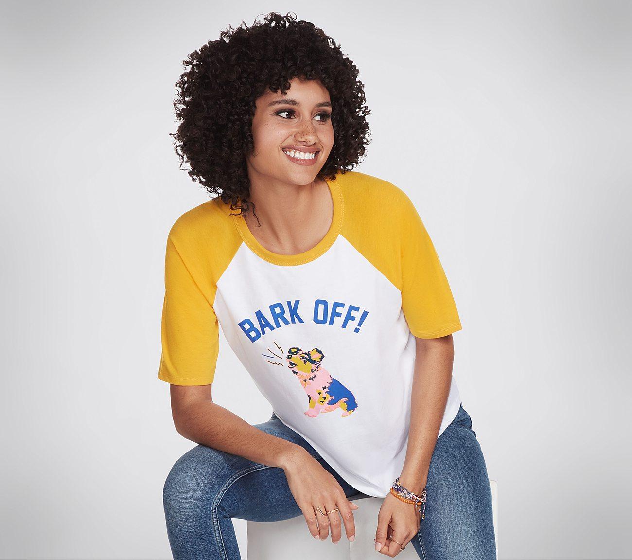 BOBS Apparel Bark Off Raglan Tee Shirt