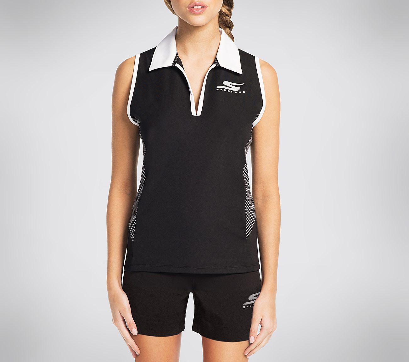 Skechers GO GOLF Downswing Sleeveless Polo Shirt
