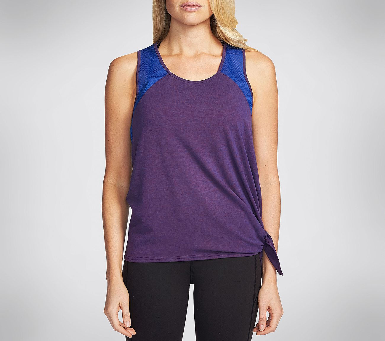 Castle Peak Side Tie Tank Top