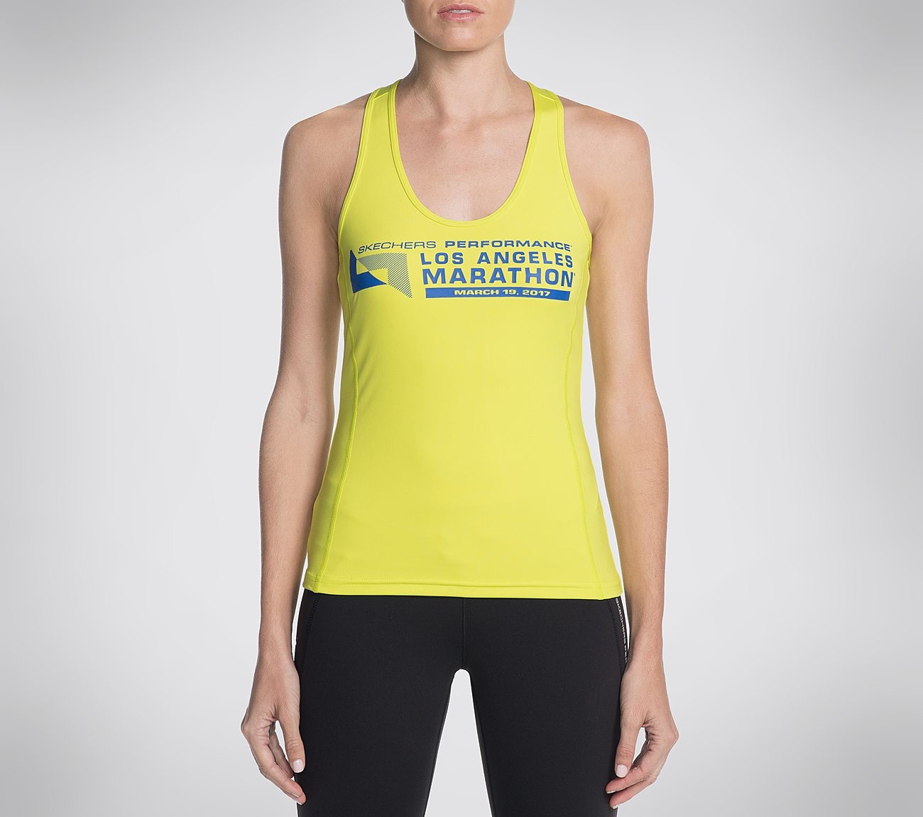 e9fe9a88dcbd77 Singlet Tank Top Skechers Performance Los Angeles Marathon. Click tap to  zoom