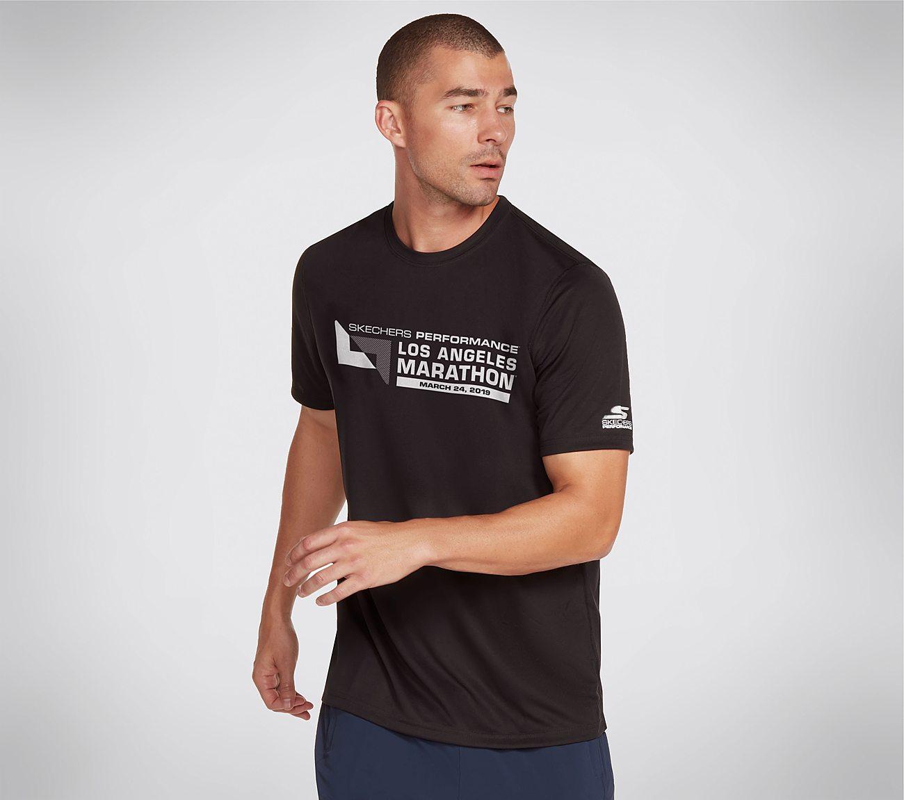 Skechers Performance Los Angeles Marathon Tech Tee Shirt