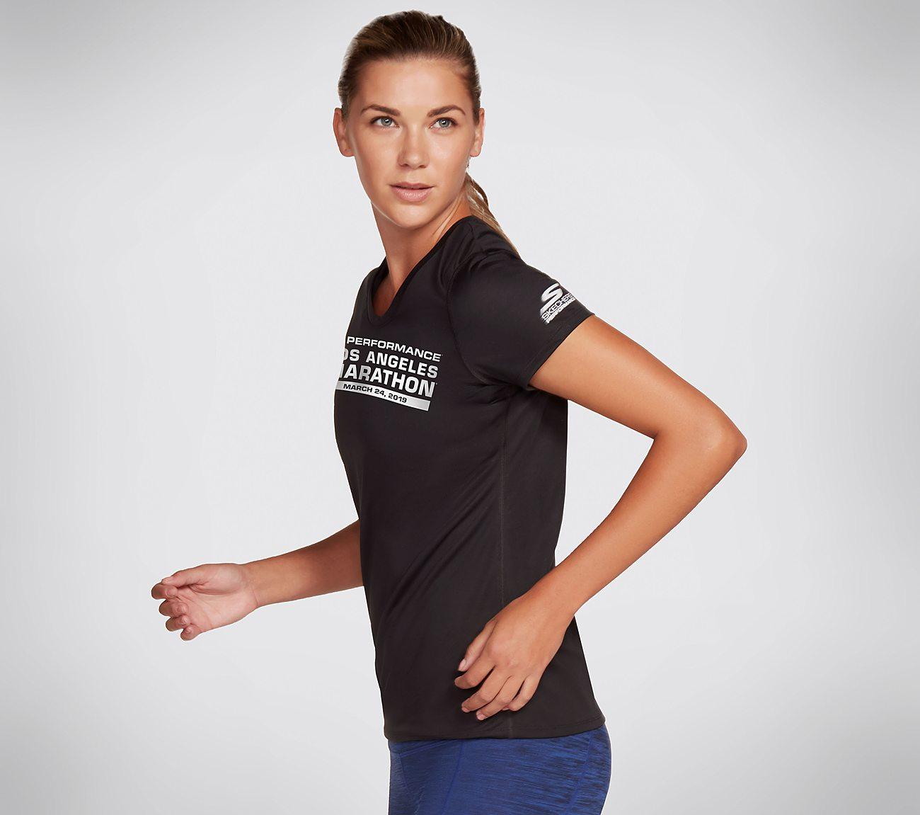 Skechers Performance Los Angeles Marathon 2019 Tech Tee Shirt