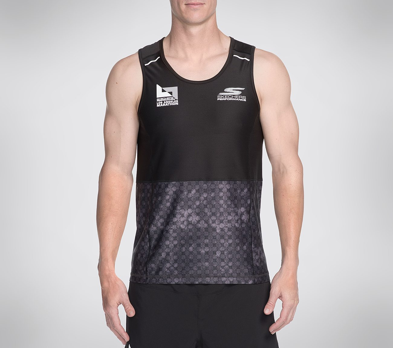 833bcc05a50886 Sub-4 Singlet Tank Top Skechers Performance Los Angeles Marathon. Click tap  to zoom