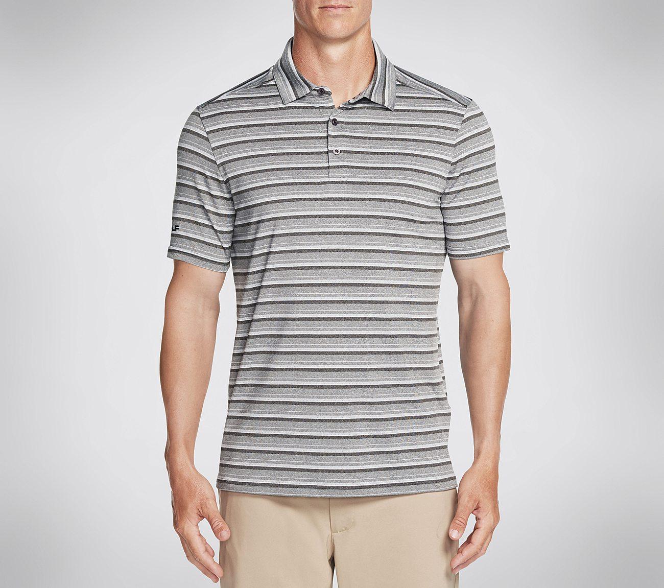 Skechers GOGOLF Approach Stripe Polo Shirt