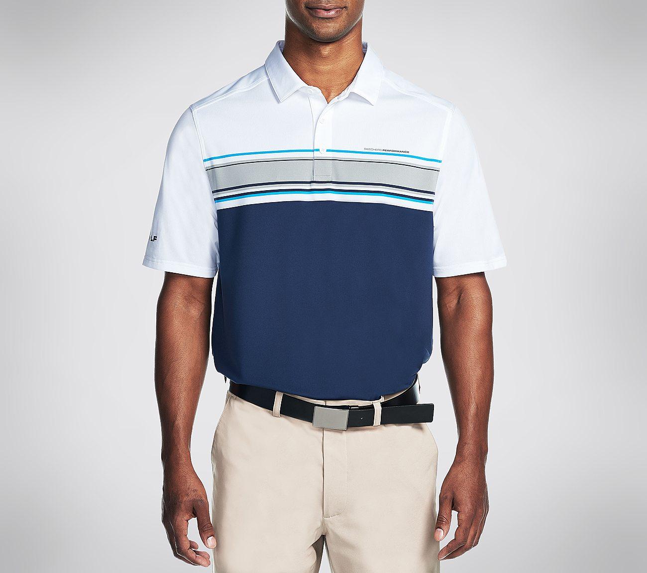 Links Stripe Polo Shirt