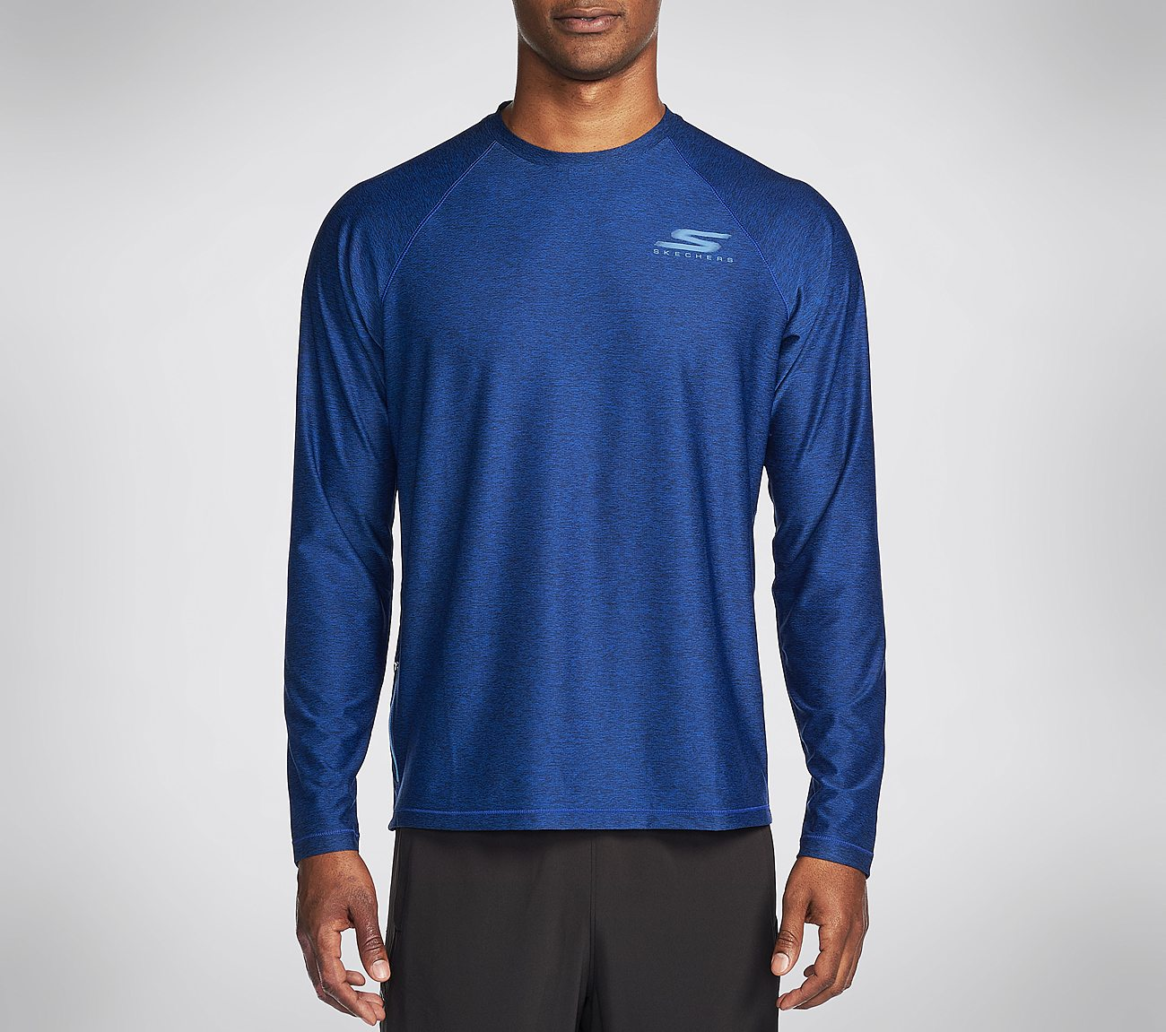 Buy Skechers Solar Long Sleeve Crew Neck Shirt Fifty Percent Off