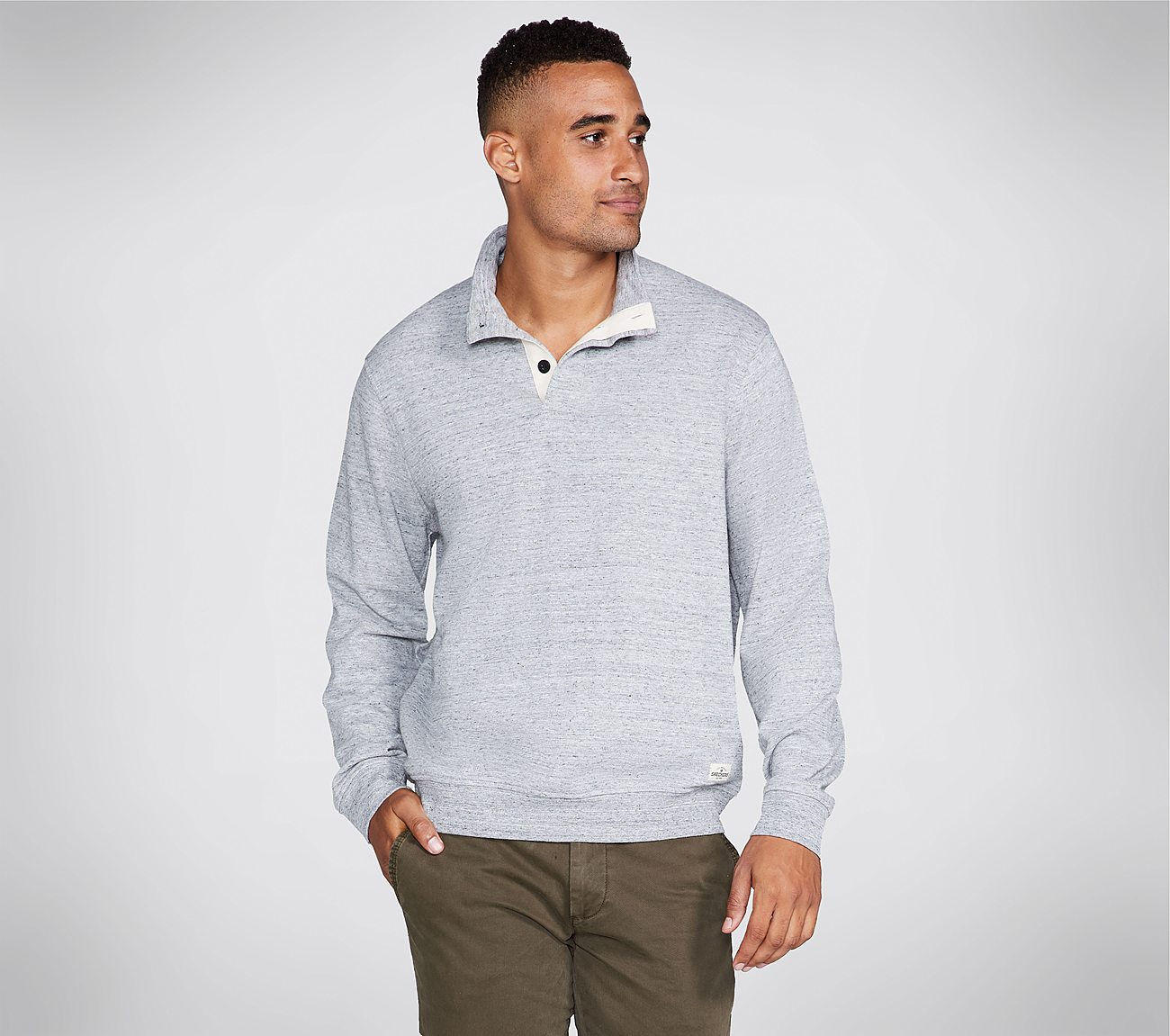 Skechers Apparel Worthy Mock Neck Shirt