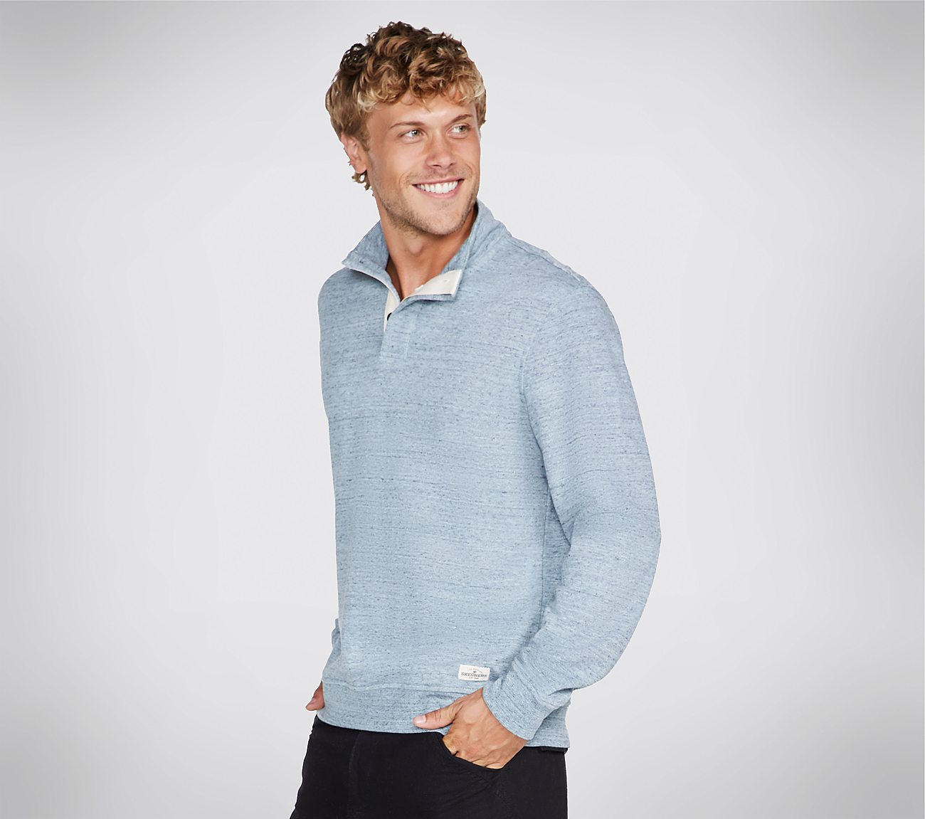 Skechers Apparel Worthy Mock Neck Shirt