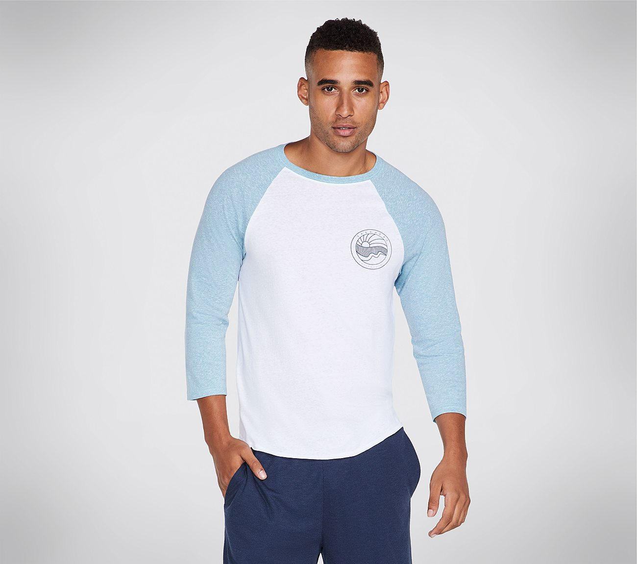 Skechers Apparel Waves Raglan Tee Shirt