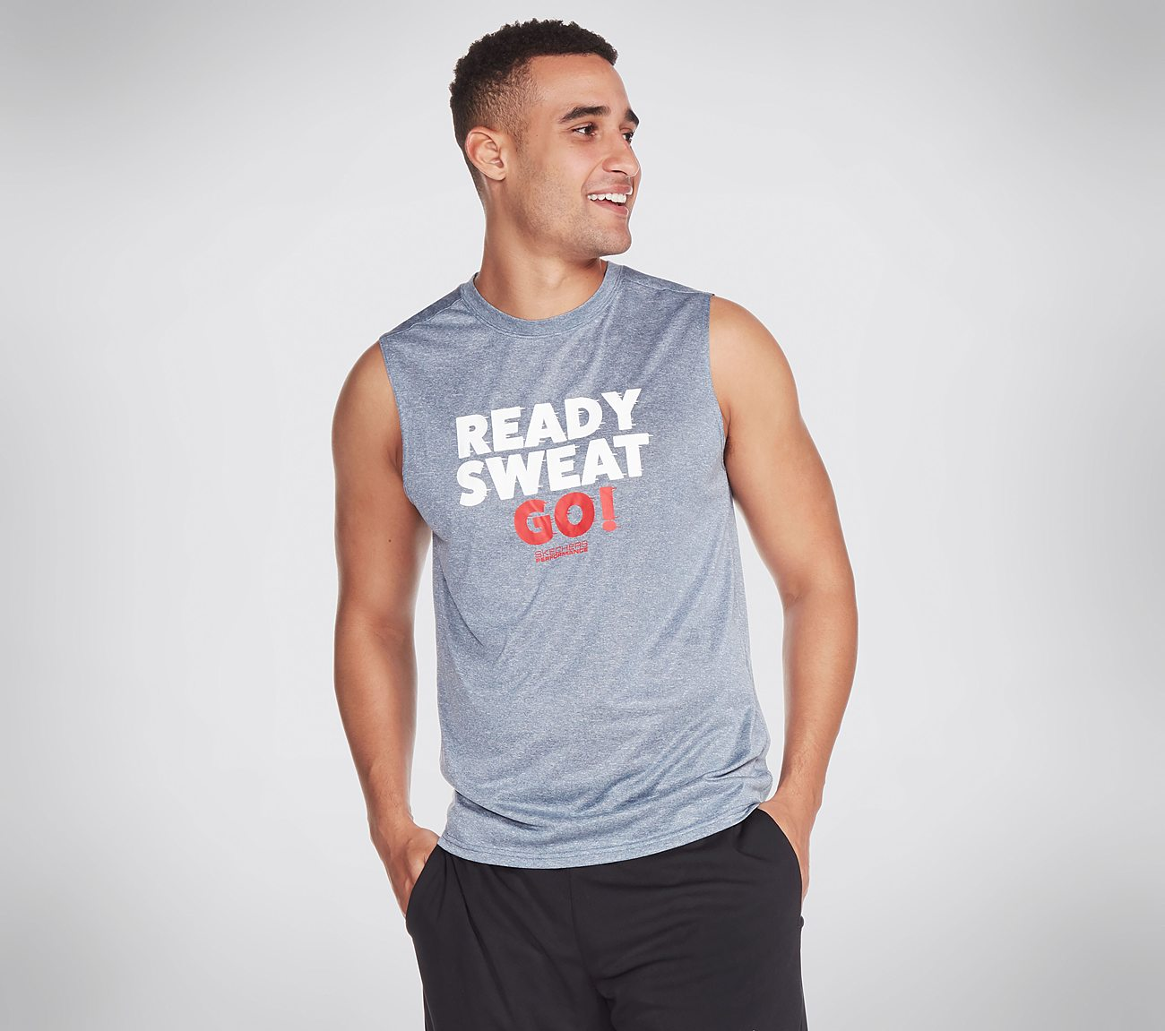 Skechers Apparel Ready Sweat Go Tank Top