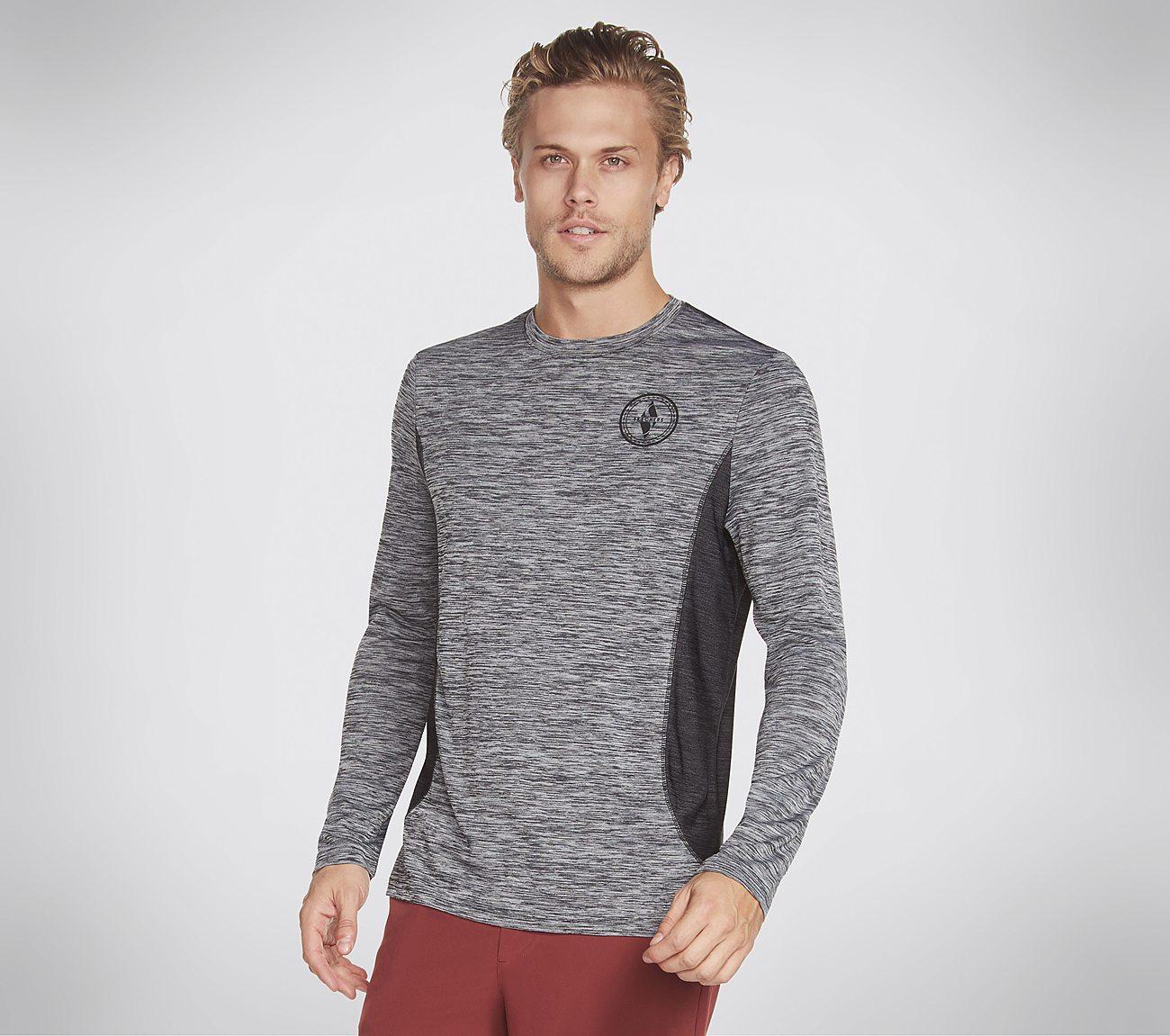 Skechers Apparel Range Long Sleeve Tech Tee Shirt