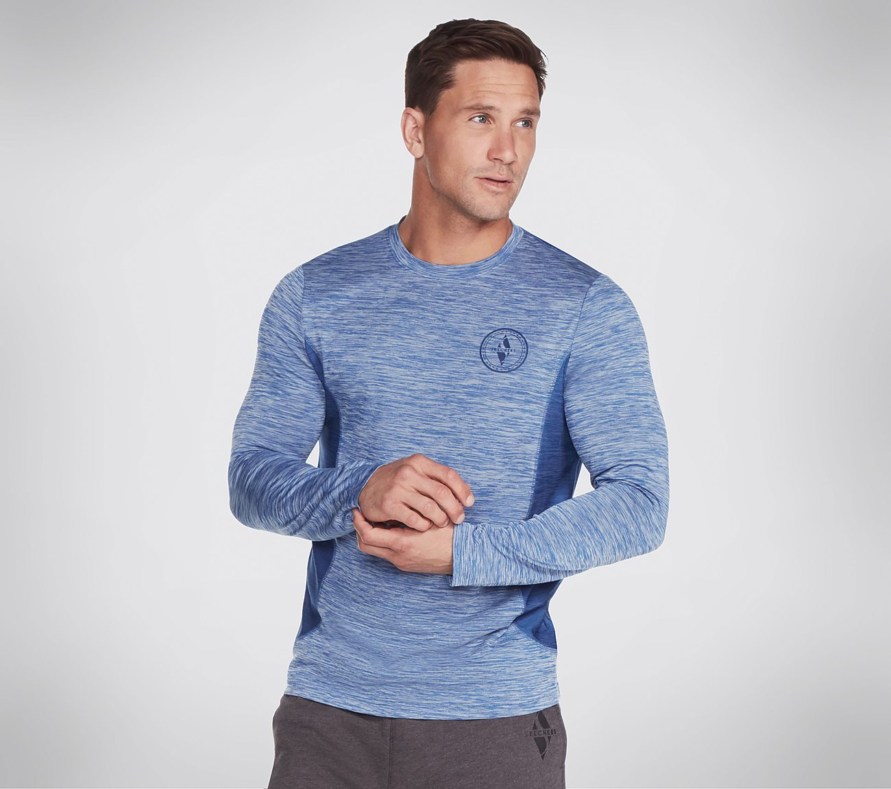 Skechers Apparel Range Long Sleeve Tech Tee Shirt