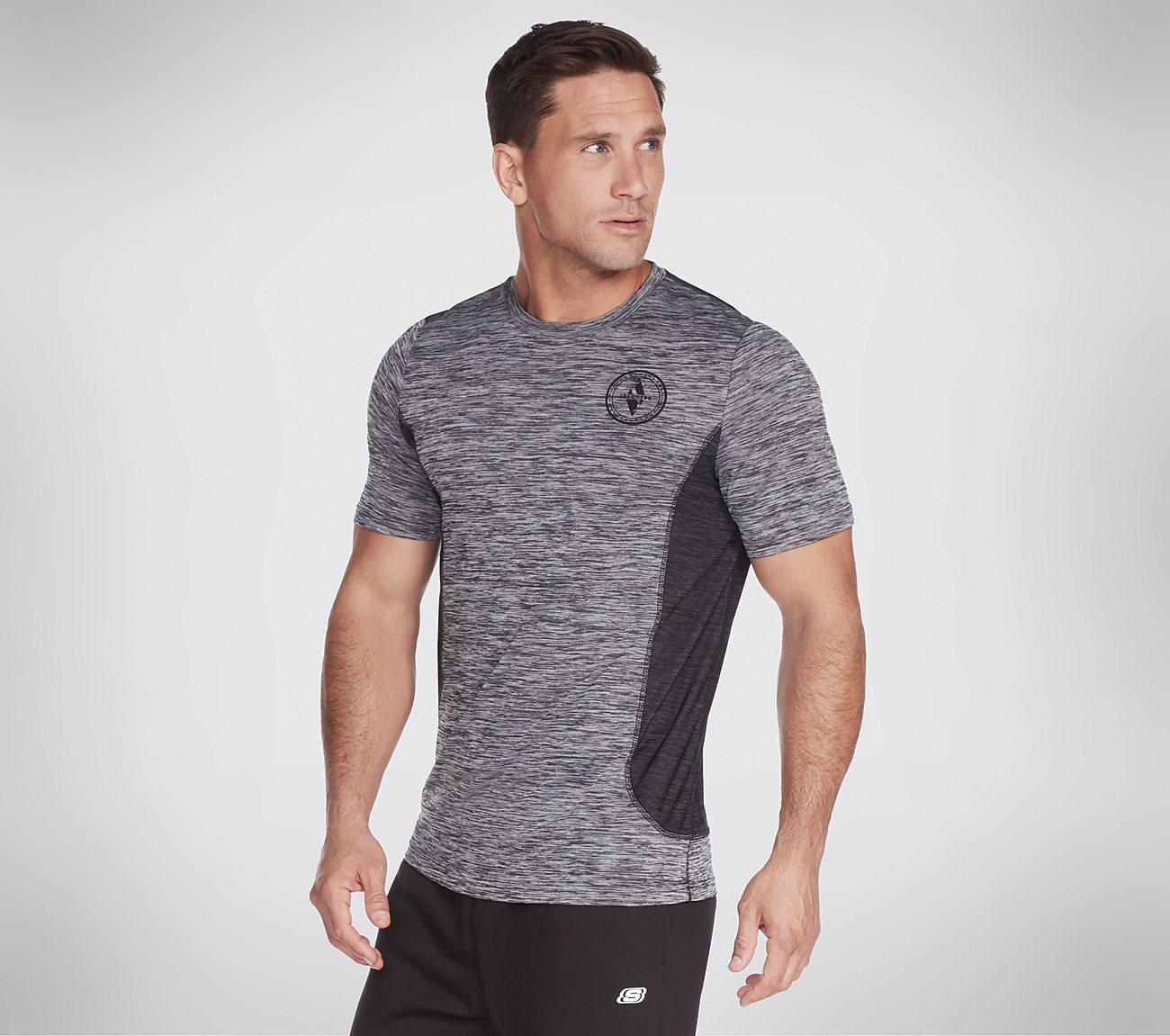 Skechers Apparel Range Short Sleeve Tech Tee Shirt