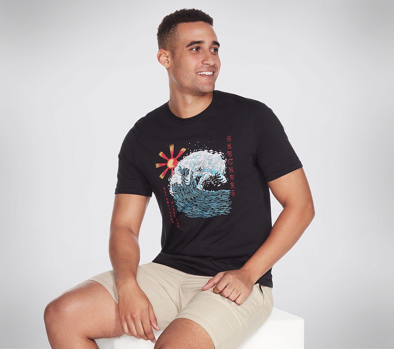 Skechers Apparel Dragon Wave Tee Shirt