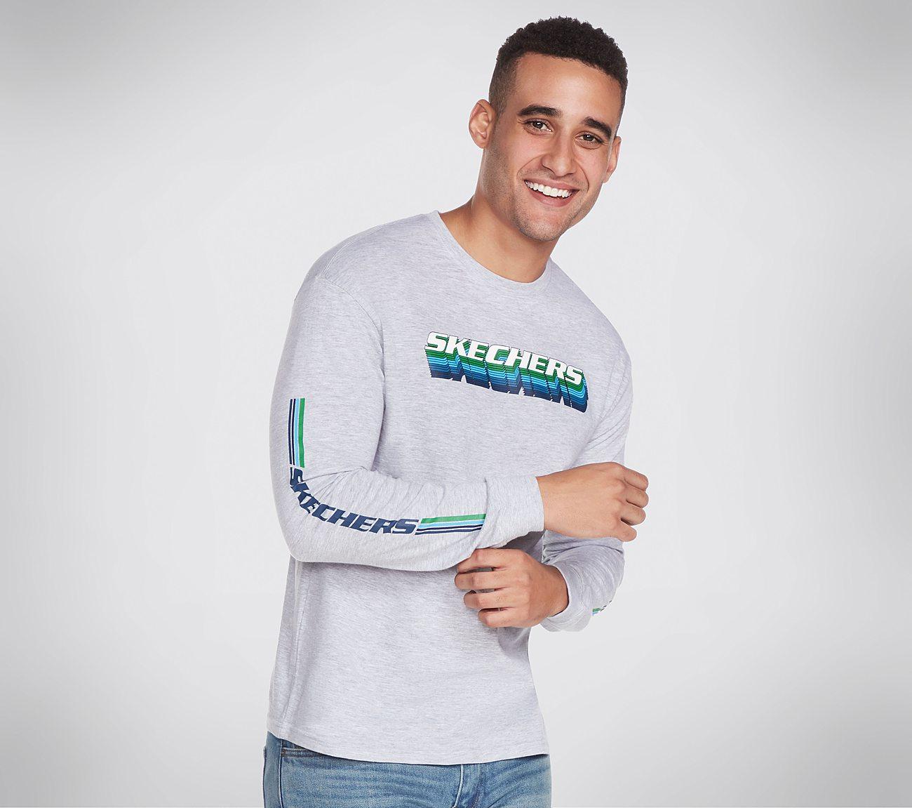 Skechers Apparel Throwback Long Sleeve Tee Shirt