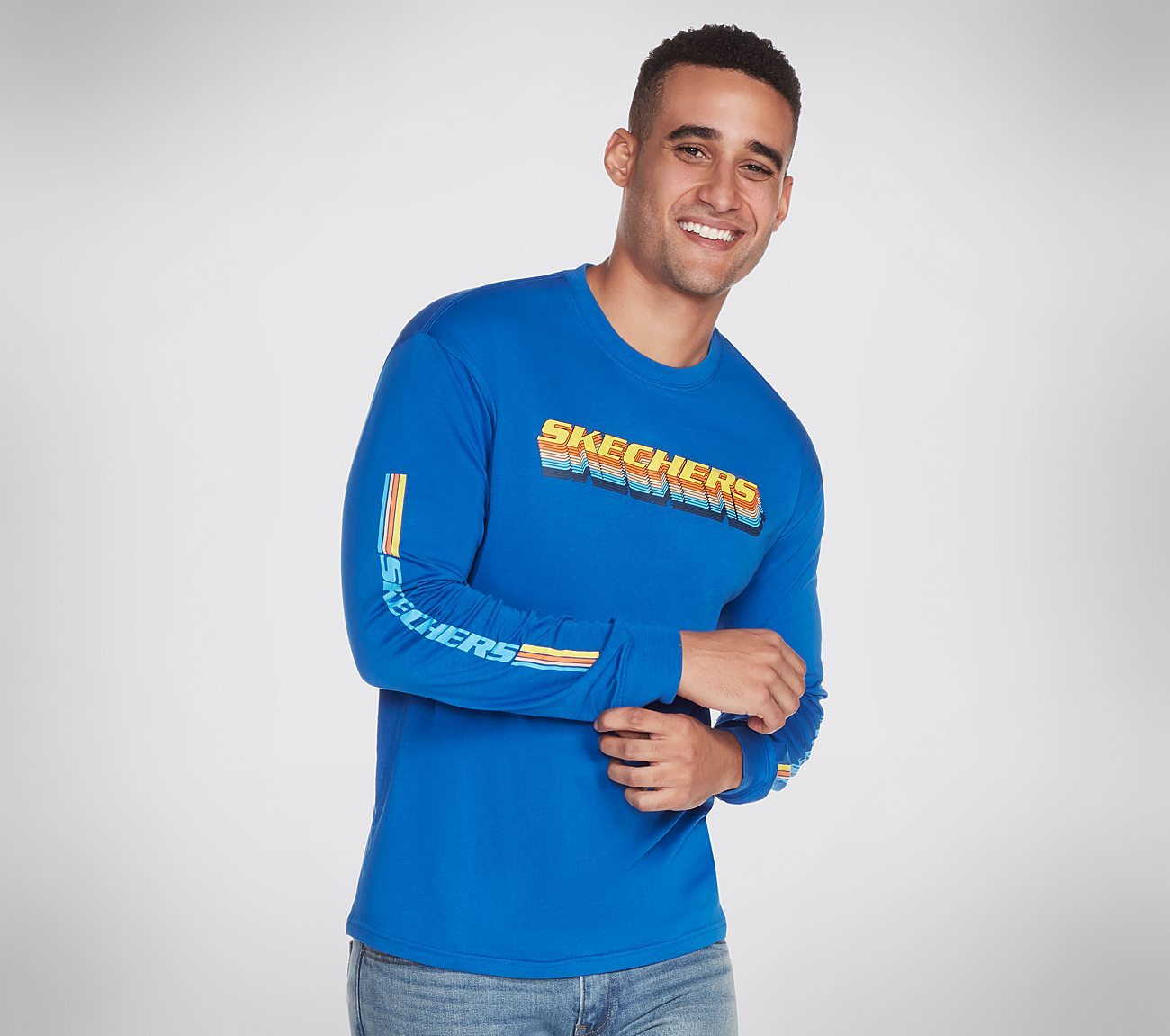 Skechers Apparel Throwback Long Sleeve Tee Shirt