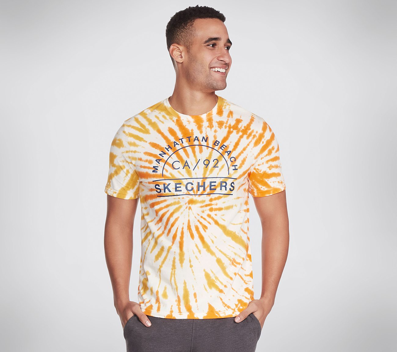 Skechers Apparel Tie Dye CA 92 Tee Shirt