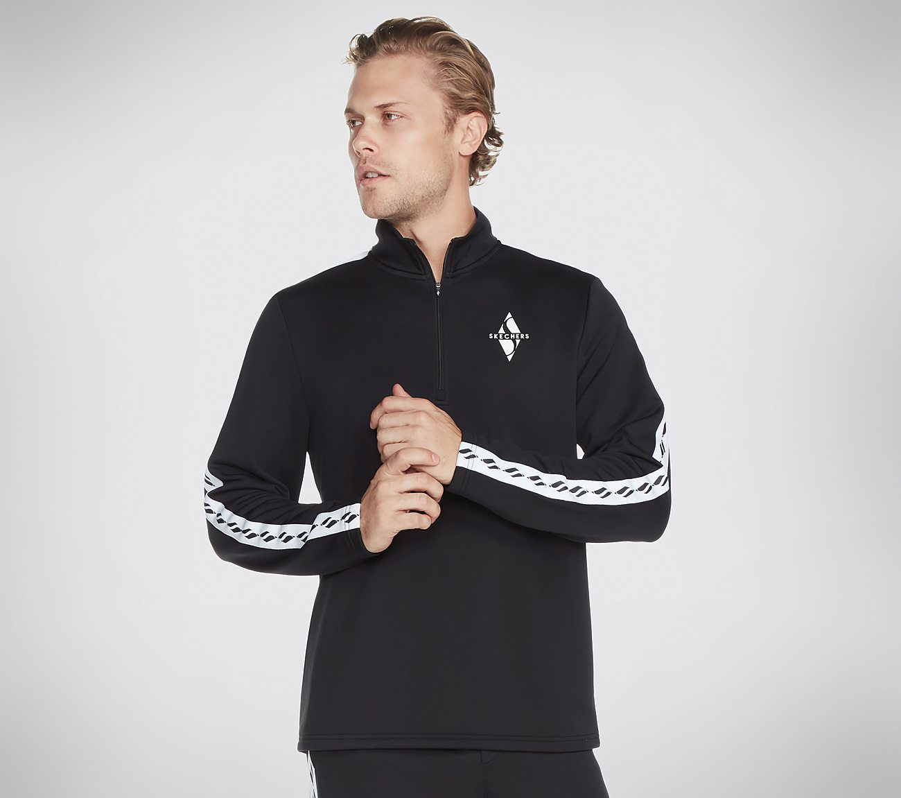 Skechers Apparel Legacy 1/4 Zip Jacket