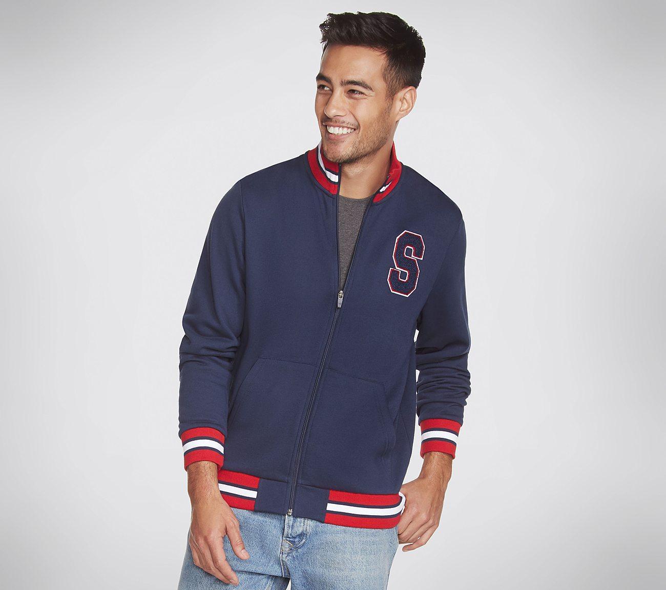 Skechers Apparel Collegiate Zip Jacket