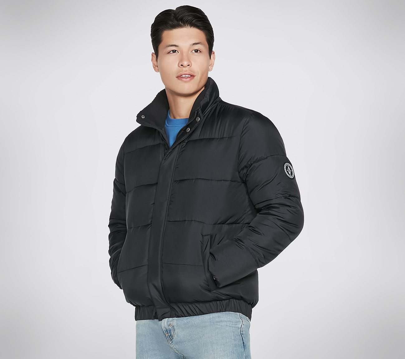 Skechers Apparel Midnight Puffer Jacket