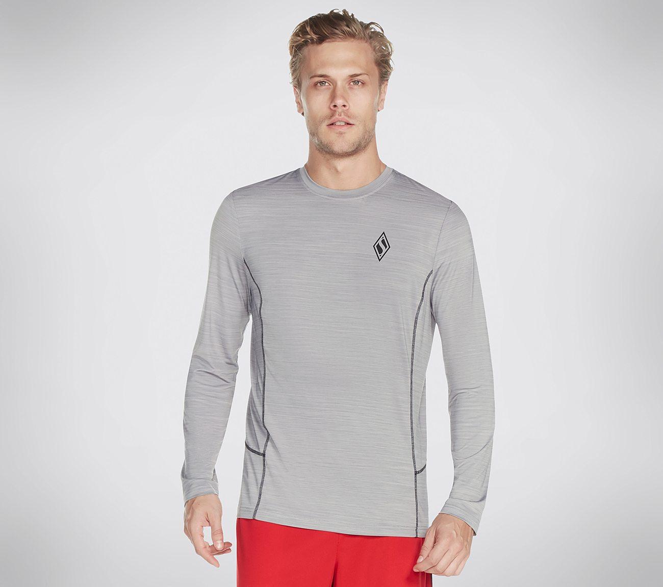 Skechers Apparel Altitude LS Tech Tee Shirt