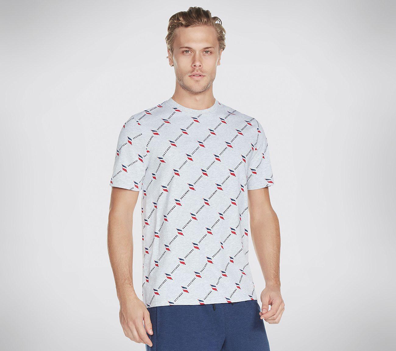 Skechers Apparel Logo Print Tee Shirt