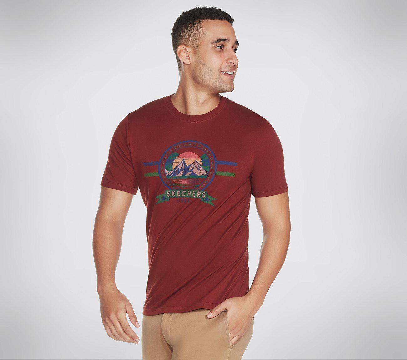 Skechers Apparel Mountain Tee Shirt