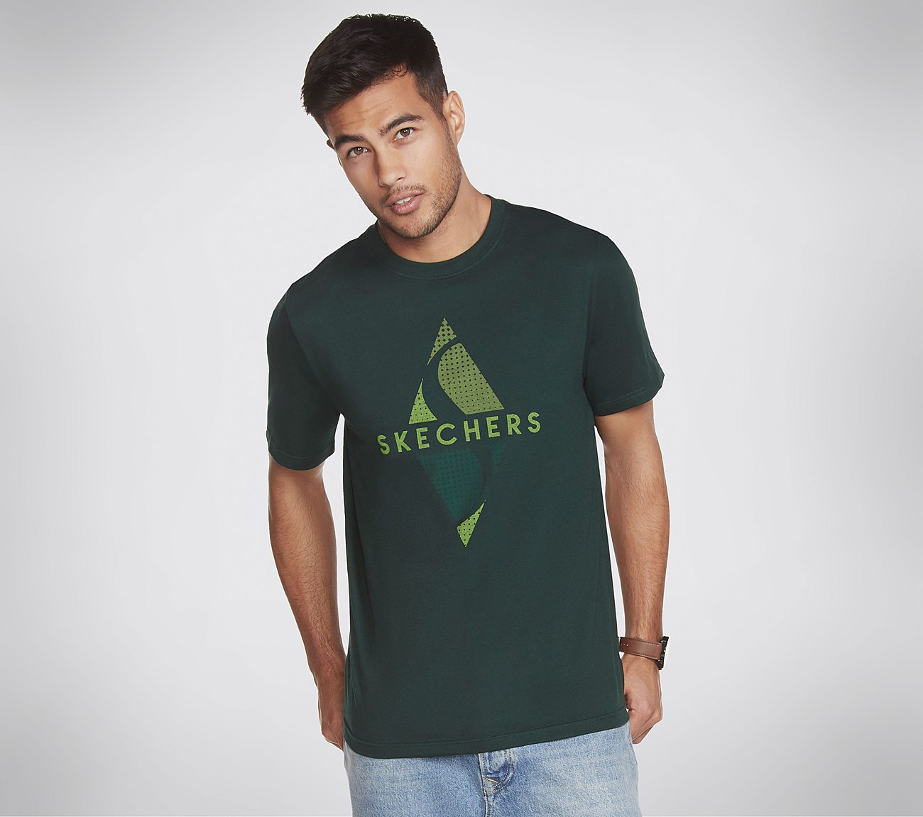 Skechers Apparel Texture Diamond Tee Shirt