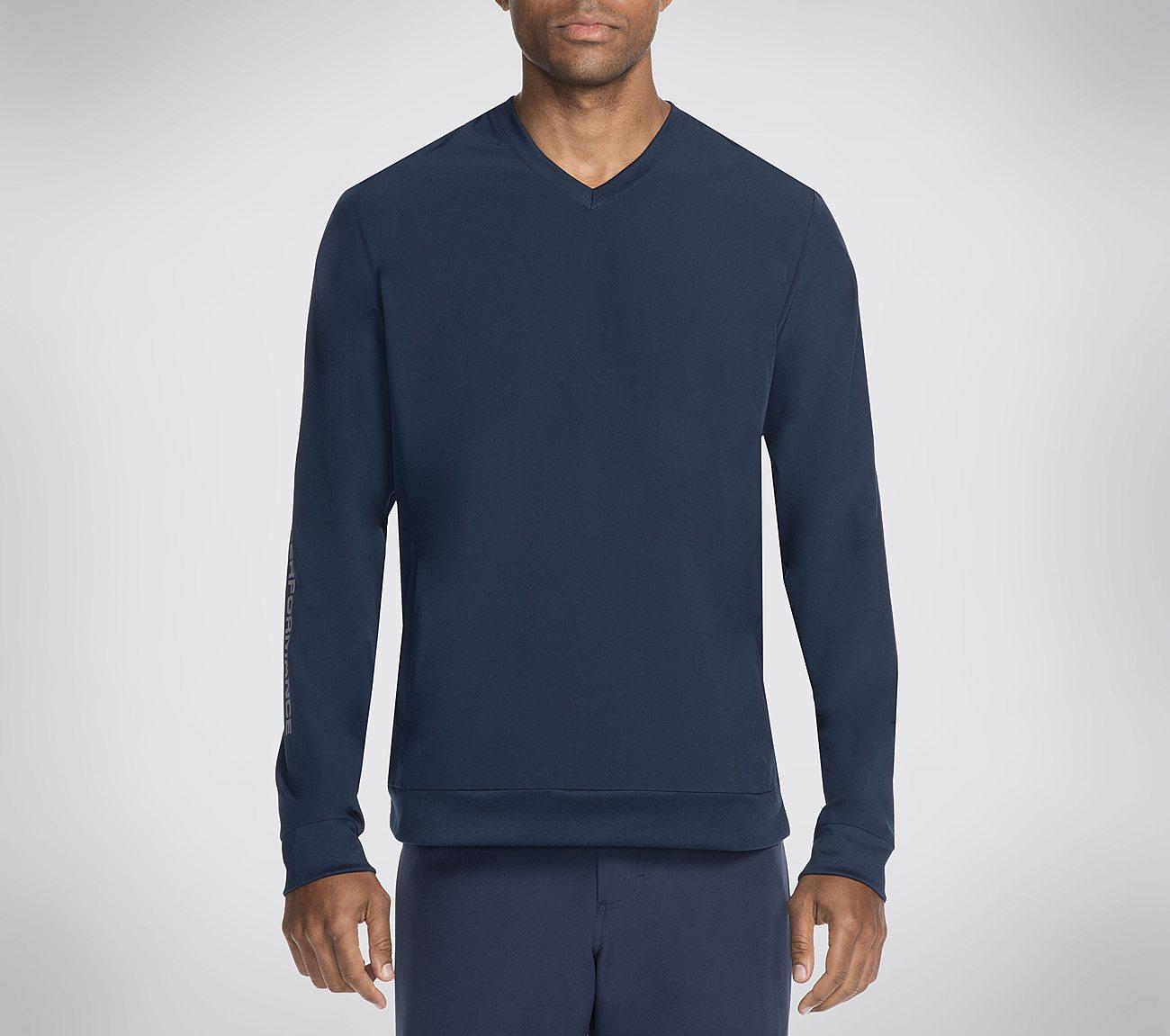Skechers Chop Pullover V Neck Shirt