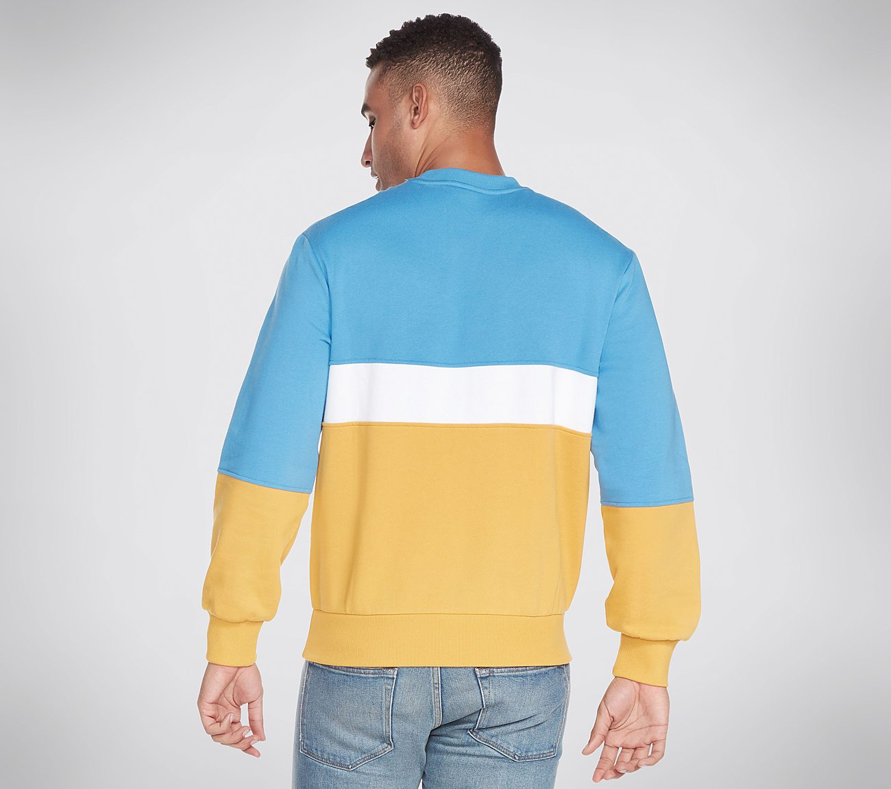 Heritage Blocked Crewneck Sweatshirt