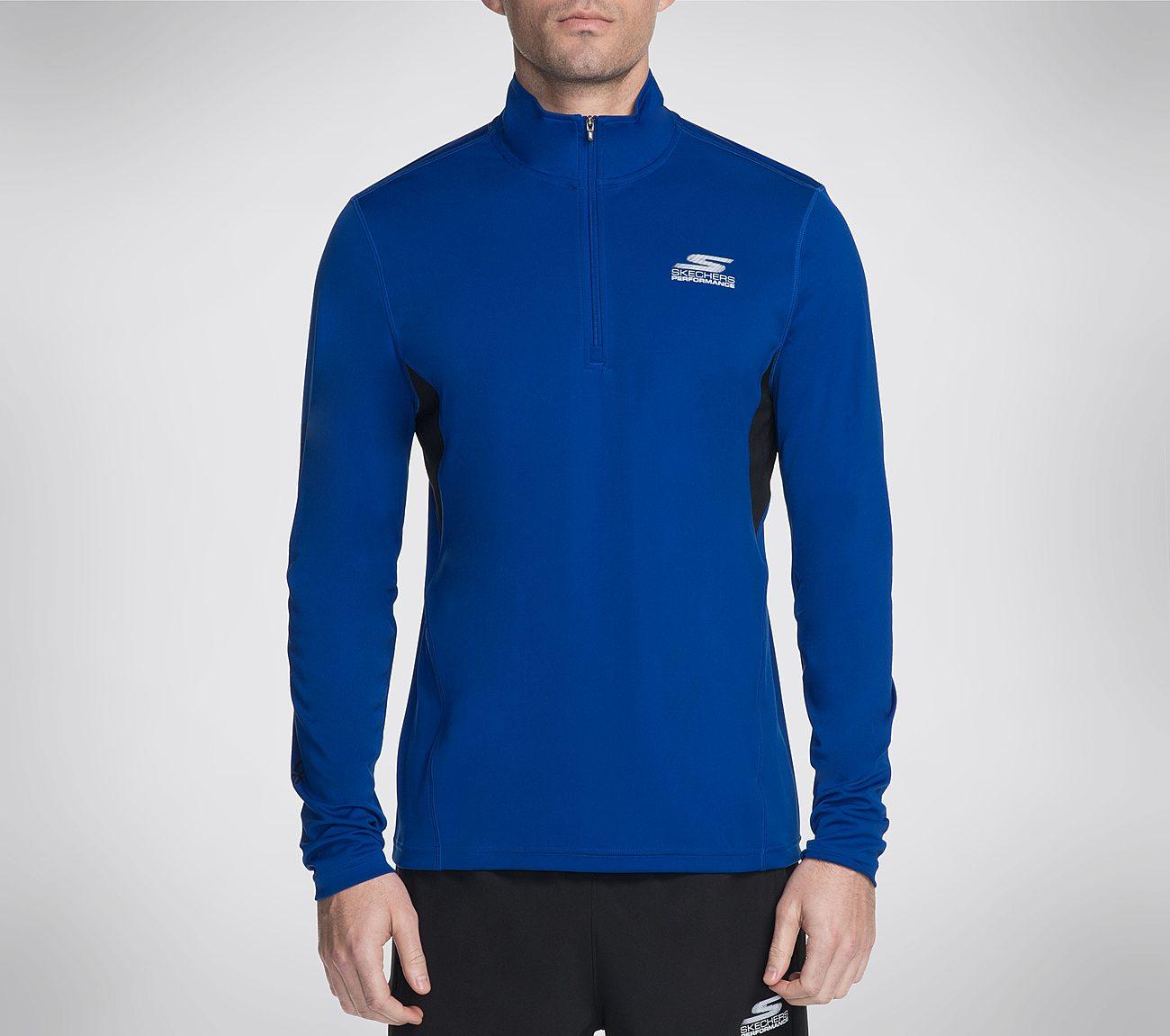 Skechers GO Train UPF LS Quarter Zip Shirt