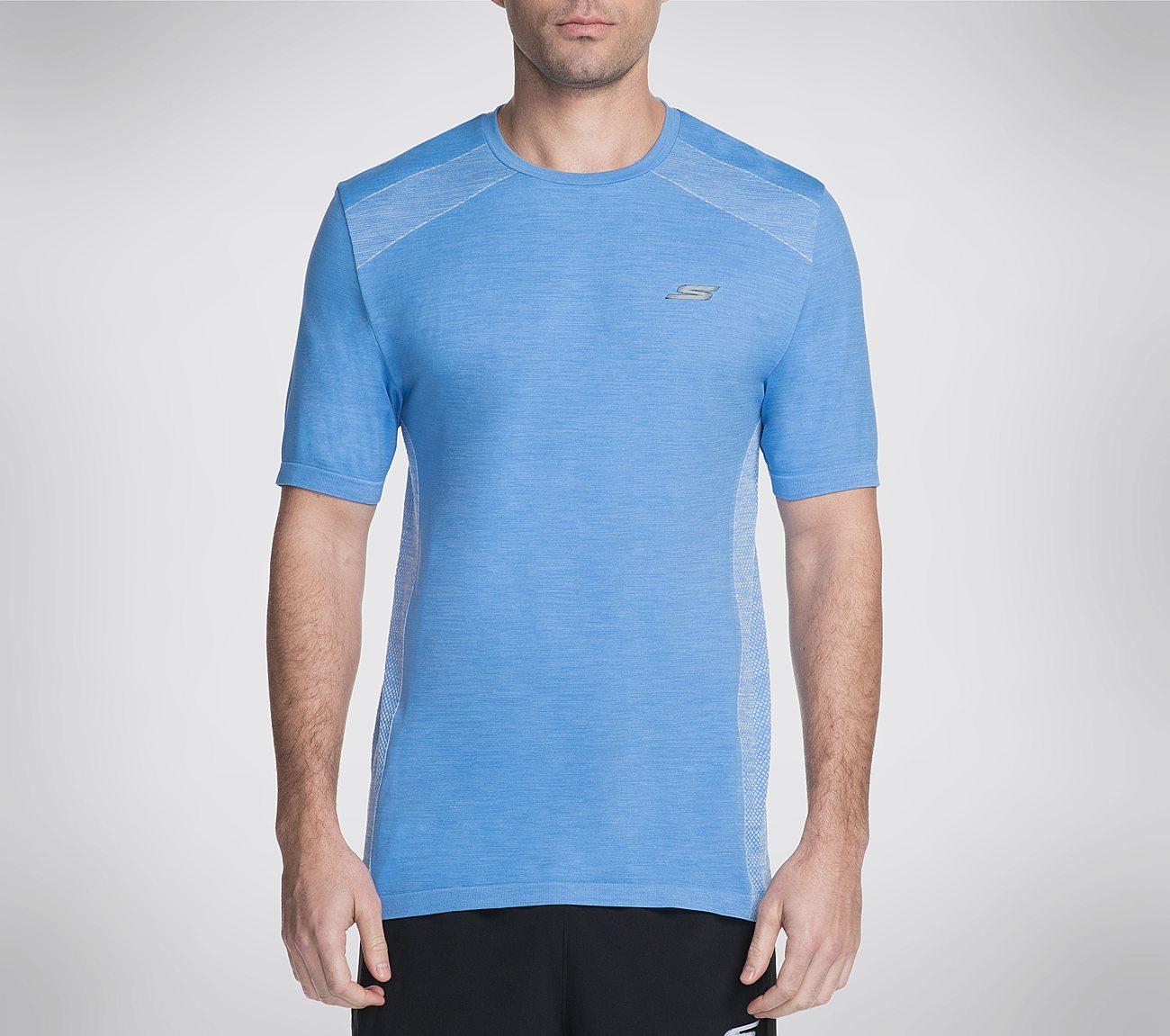 Skechers GO Knit Seamless Tee Shirt | Tuggl