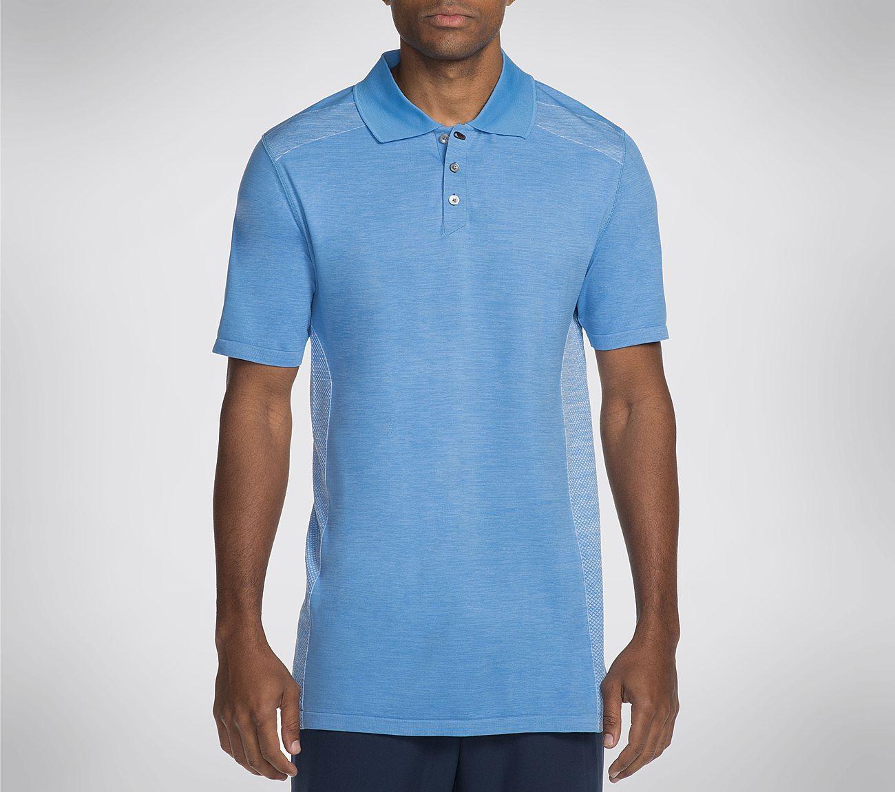 Men's Skechers GO GOLF Knit Seamless Polo Shirt