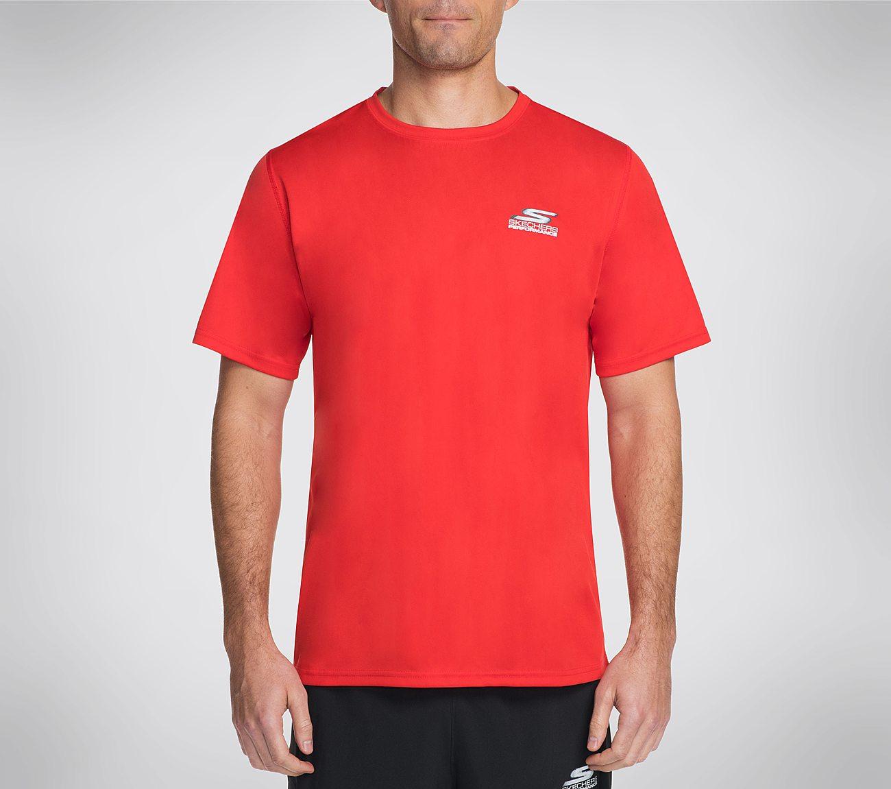 Skechers GO Train Sport Mesh Tee Shirt