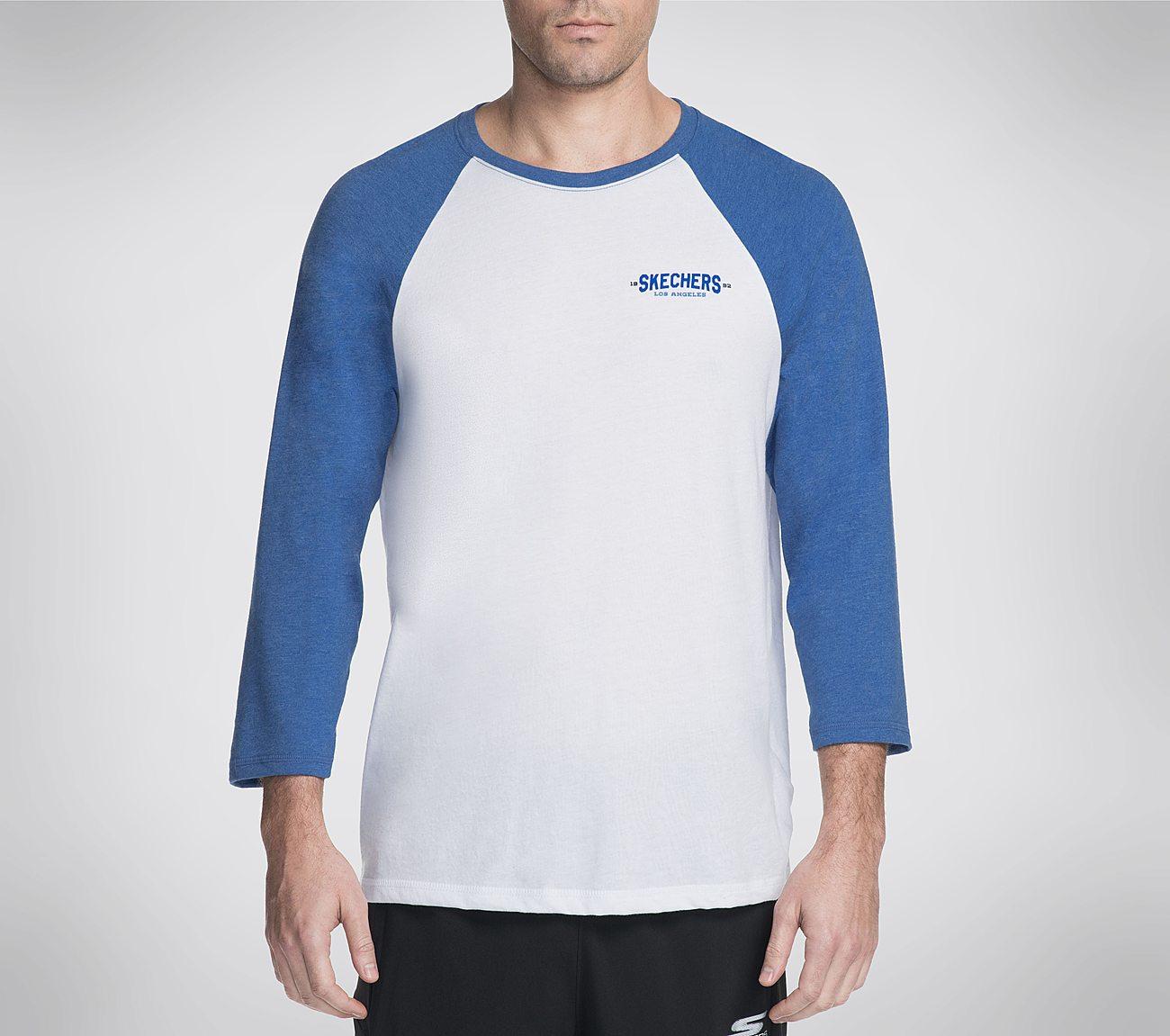 Skechers GOwalk Baseball Crew Tee Shirt