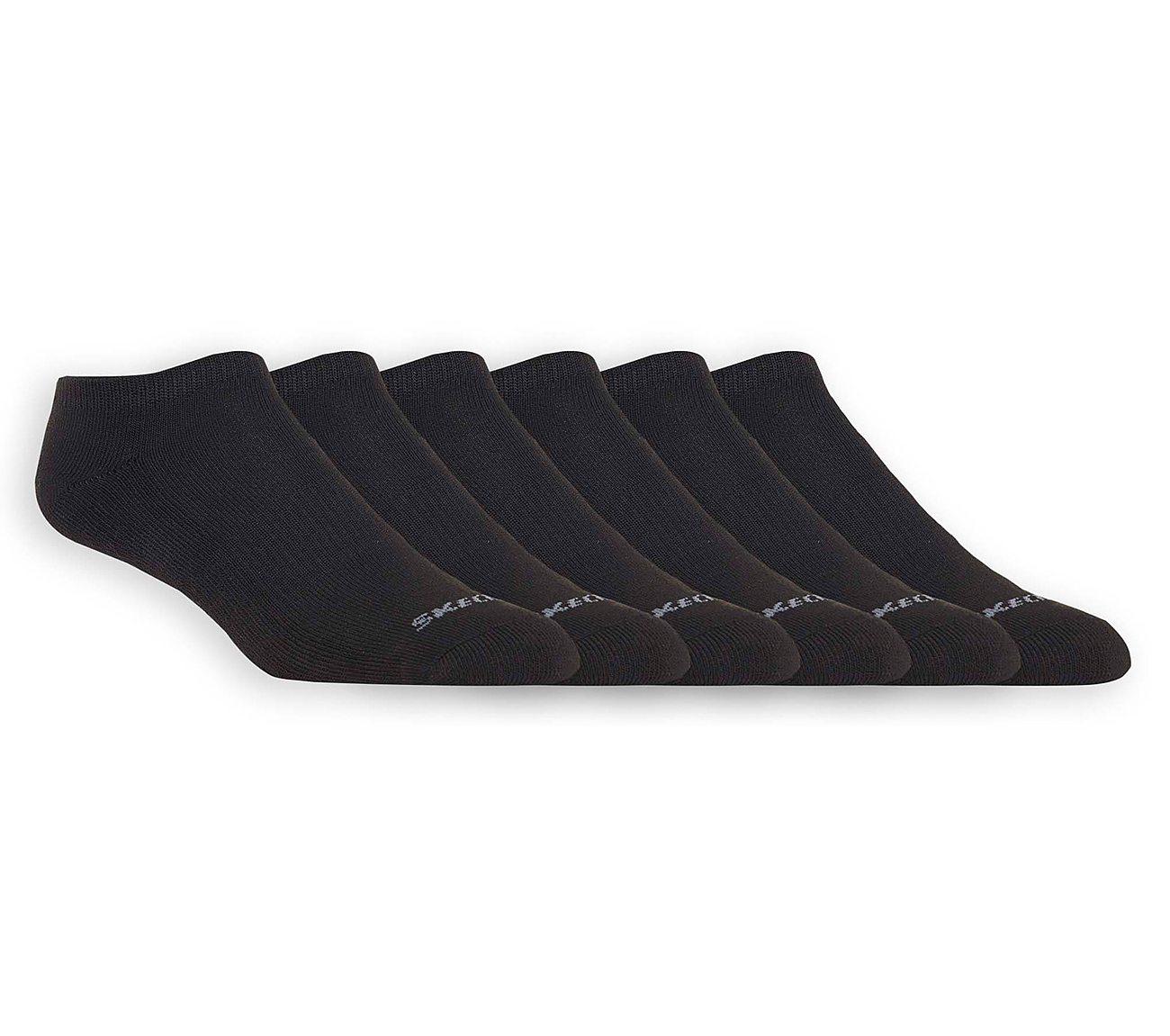 6 Pack Half Terry Low Cut Socks