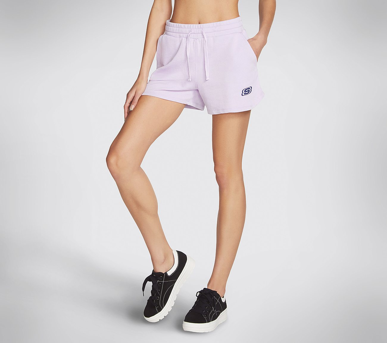 Skechers Apparel Washed Terry Short